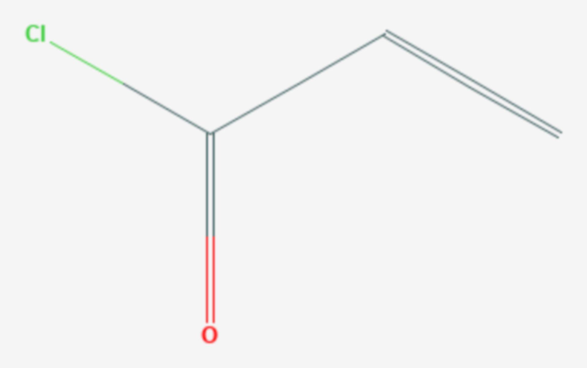 Acryloylchlorid (Strukturformel)