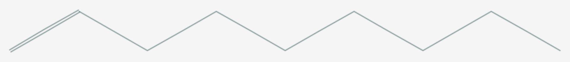 1-Nonen (Strukturformel)