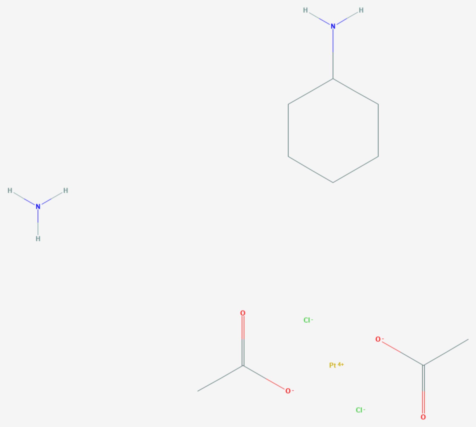 Satraplatin (Strukturformel)
