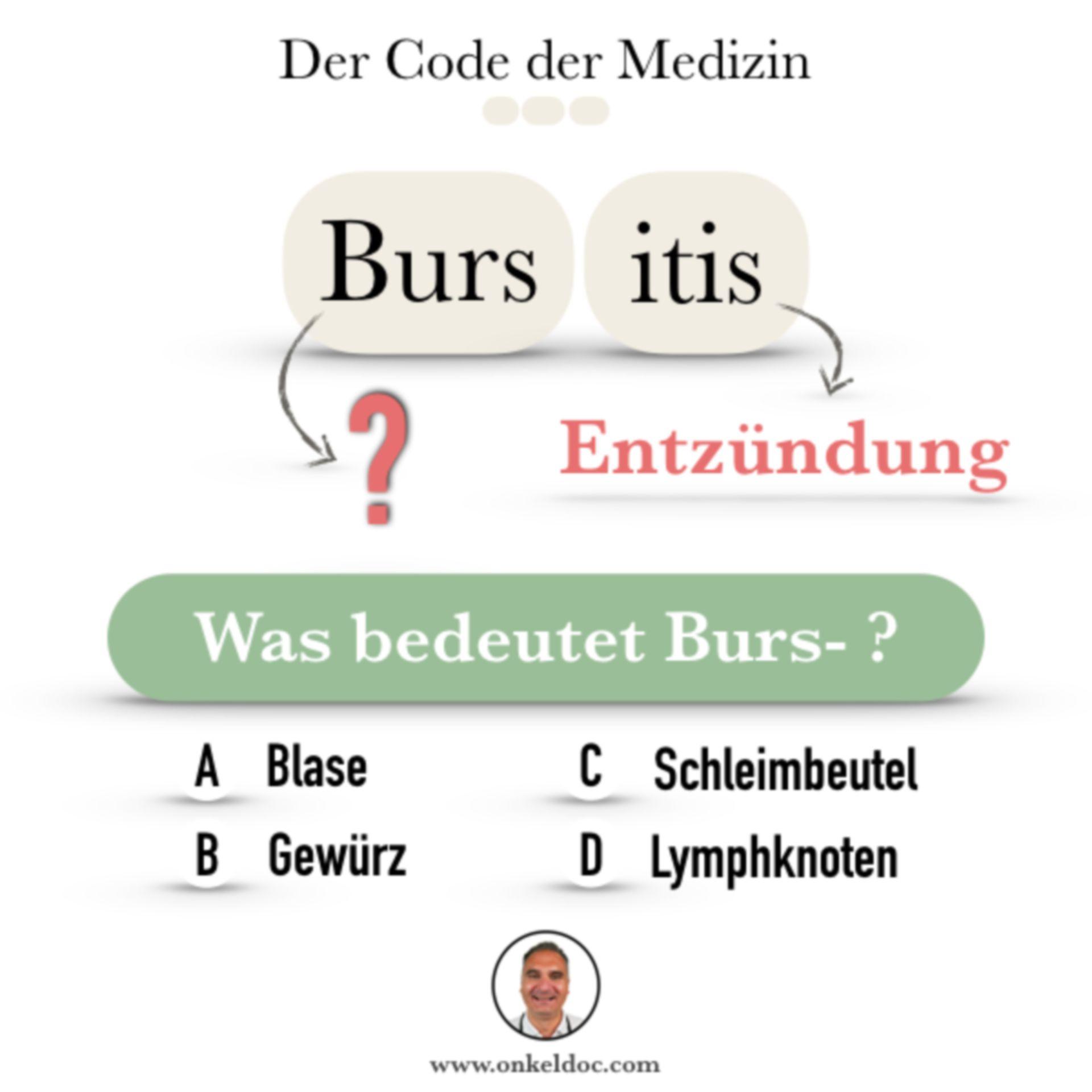 Frage zum Code der Bursitis
