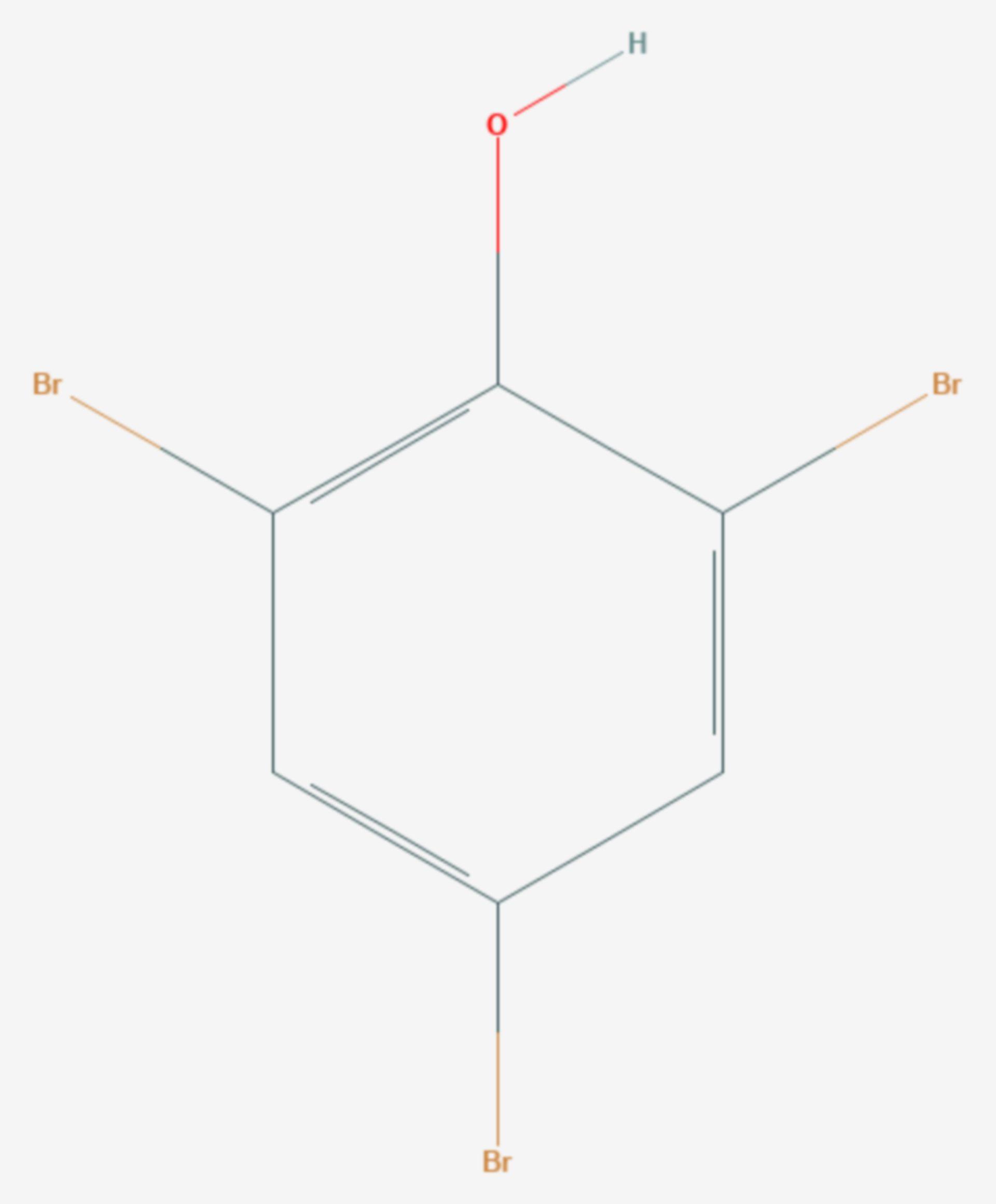 2,4,6-Tribromphenol (Strukturformel)