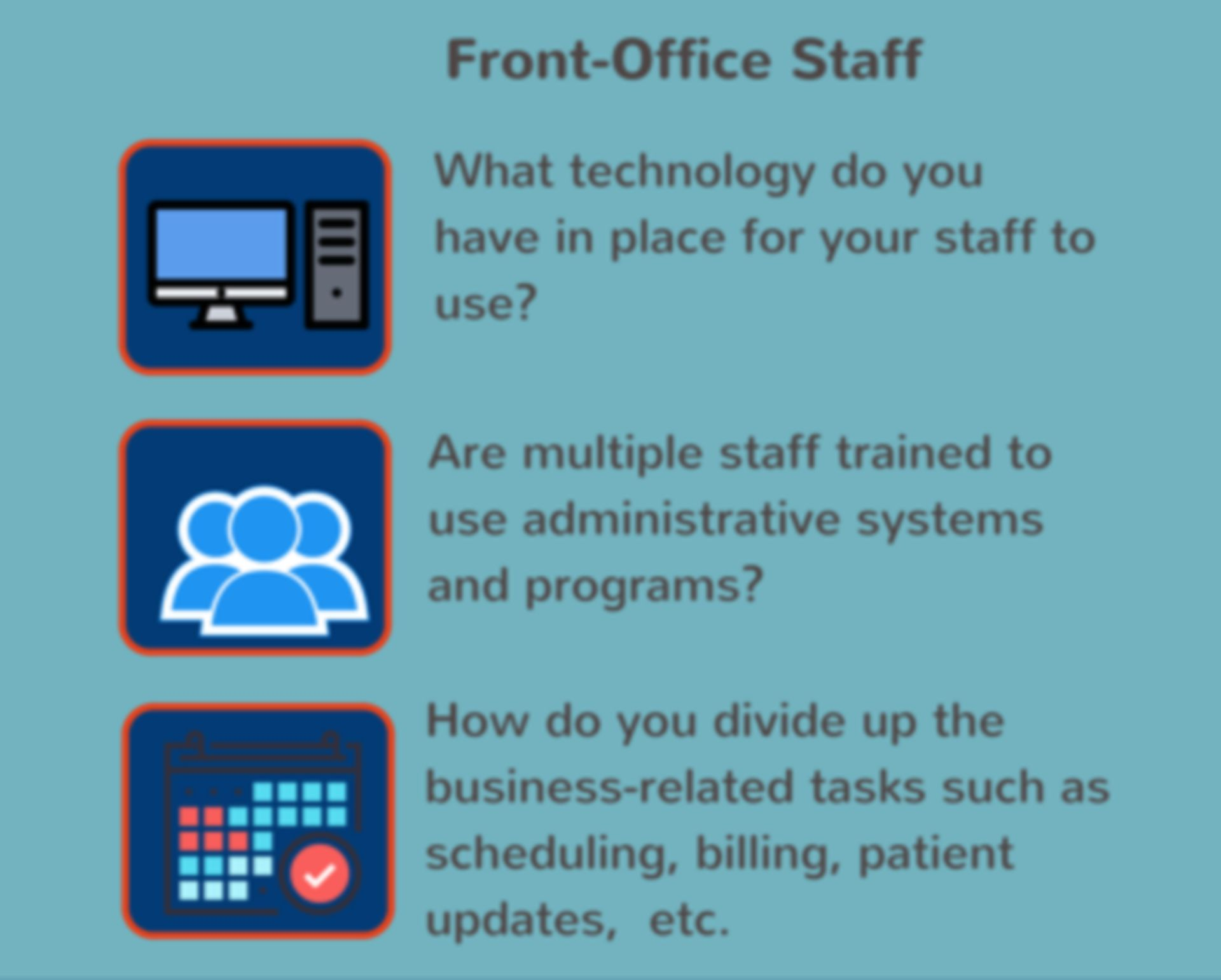 Front-Office Staff
