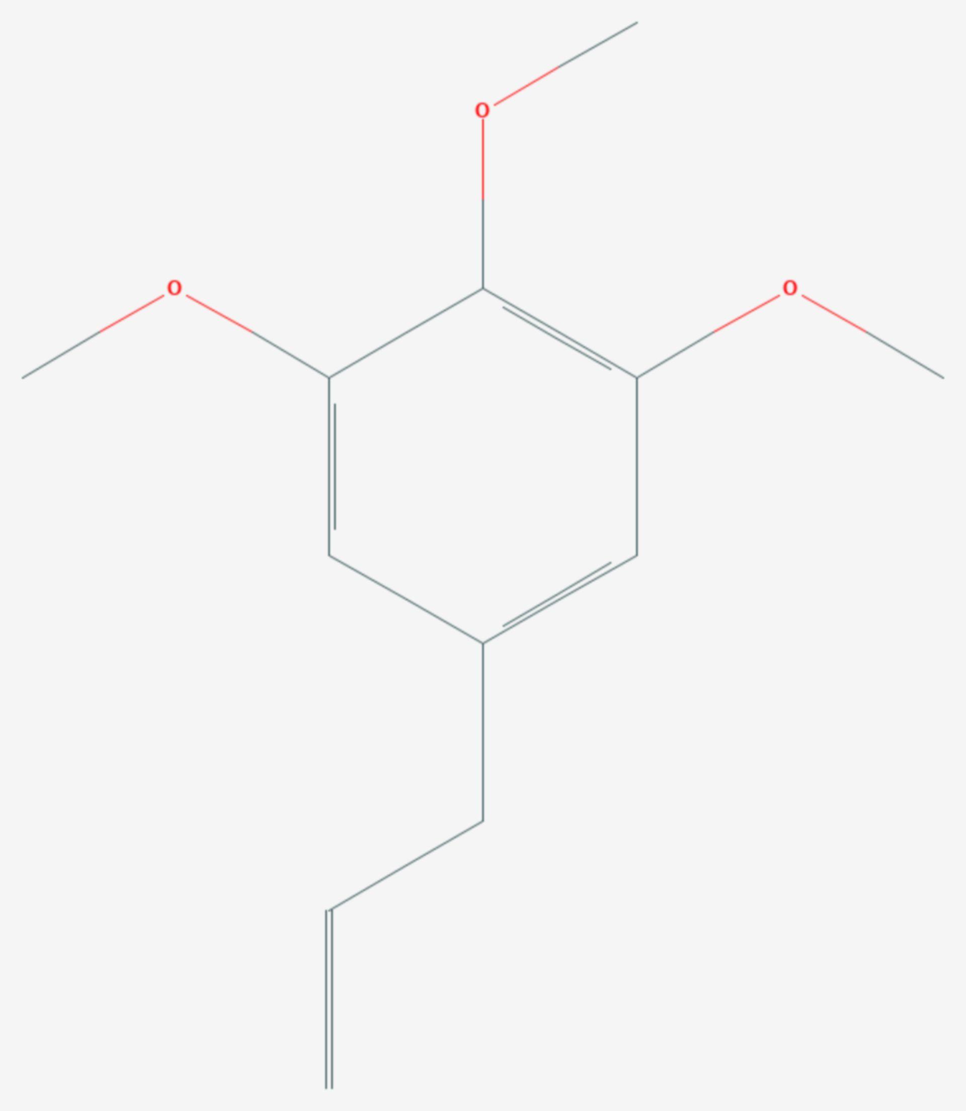 Elemicin (Strukturformel)