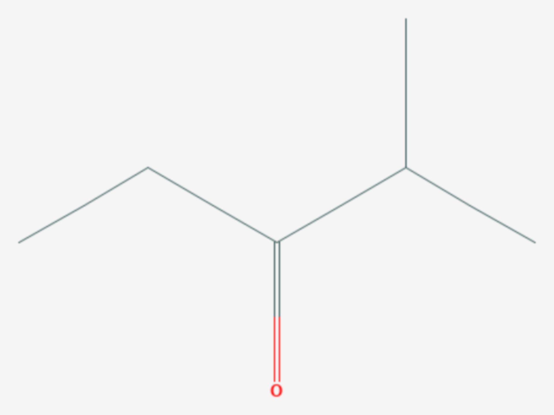2-Methyl-3-pentanon (Strukturformel)