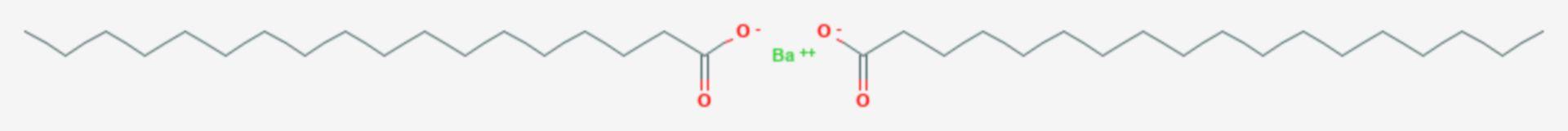 Bariumstearat (Strukturformel)