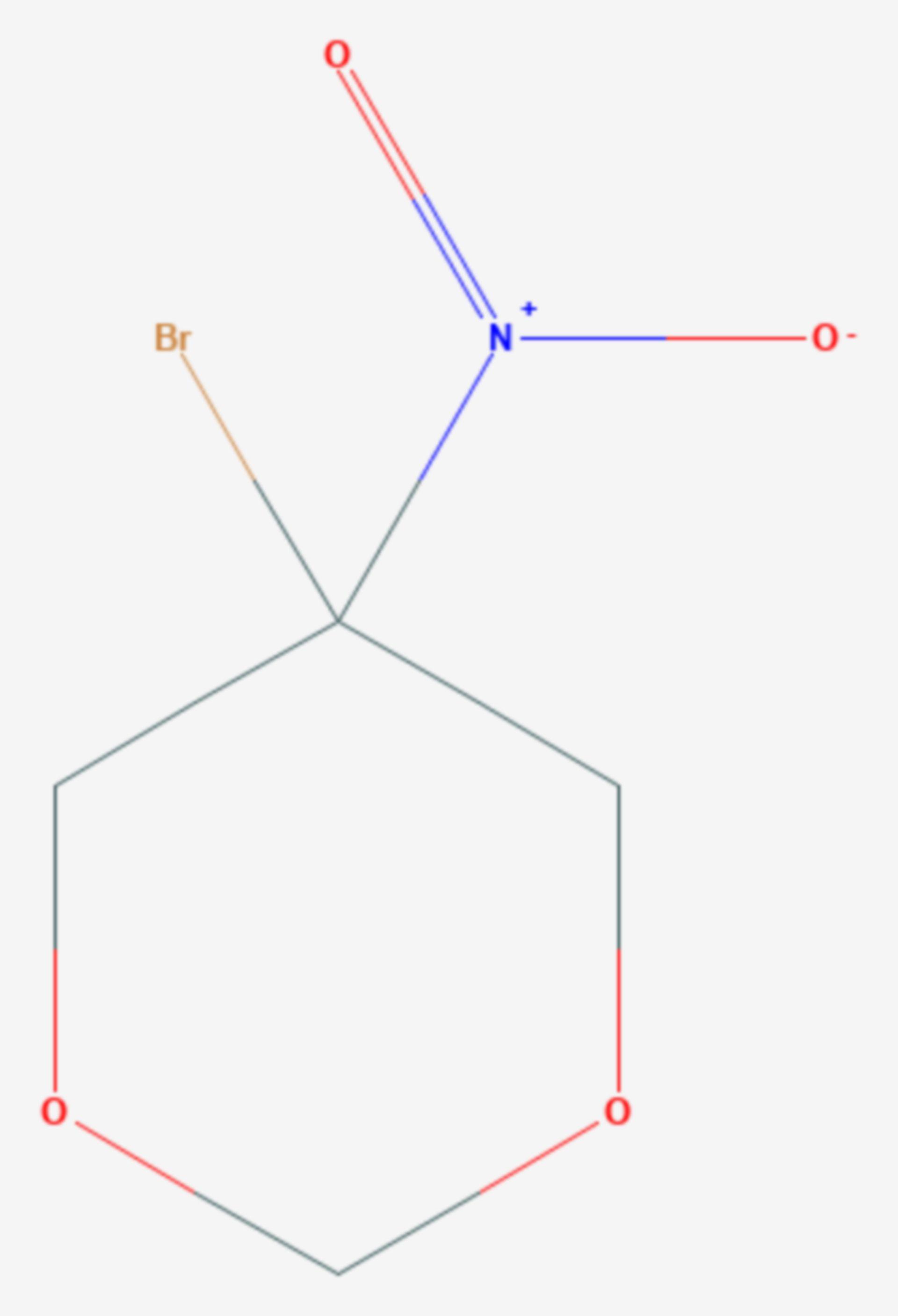 Bronidox (Strukturformel)