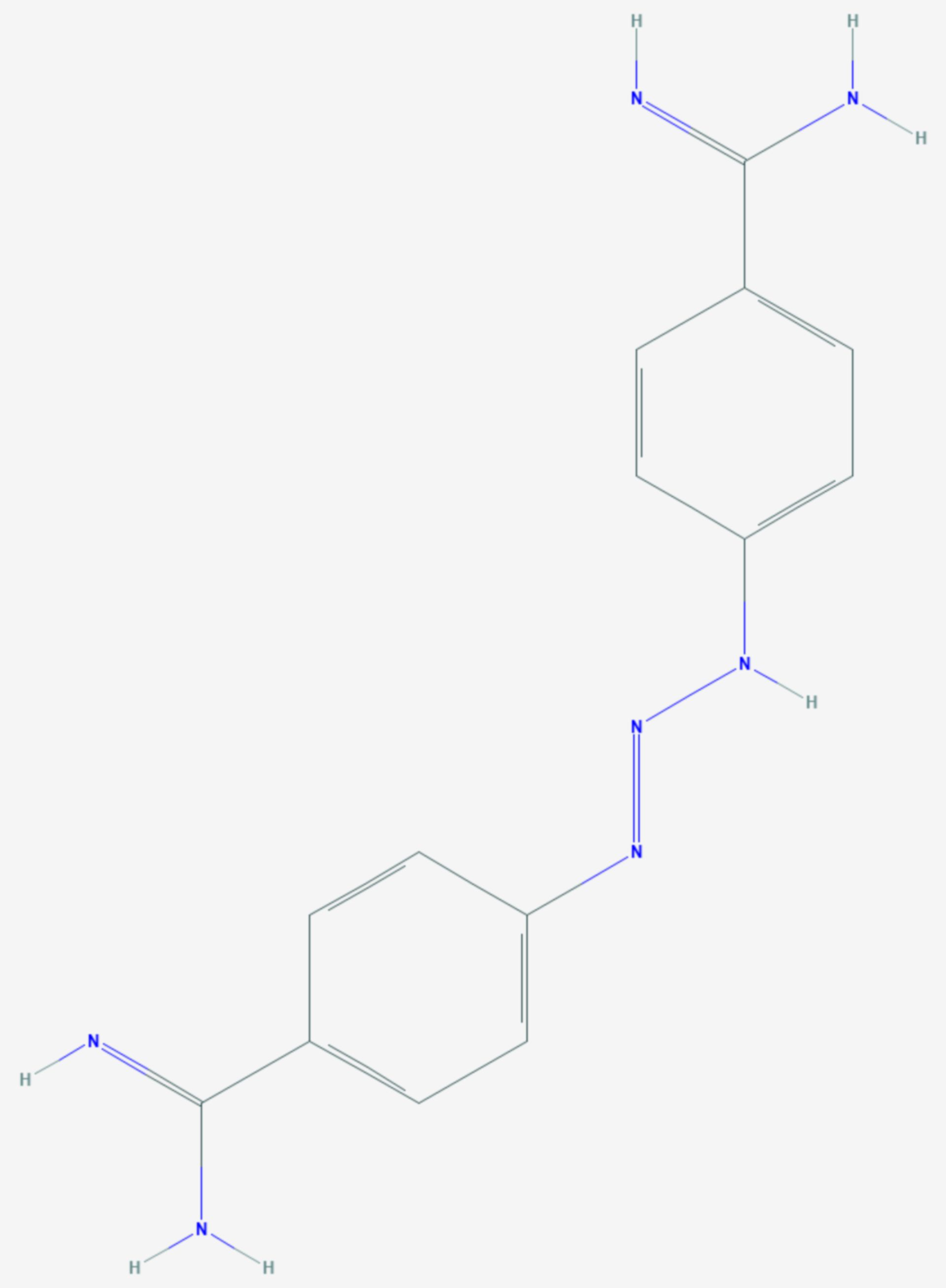 Diminazen (Strukturformel)