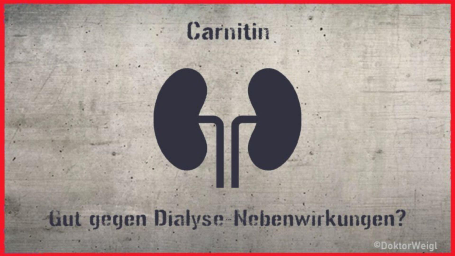 L-Carnitin bei Dialysepatienten – senkt es die Nebenwirkungen?