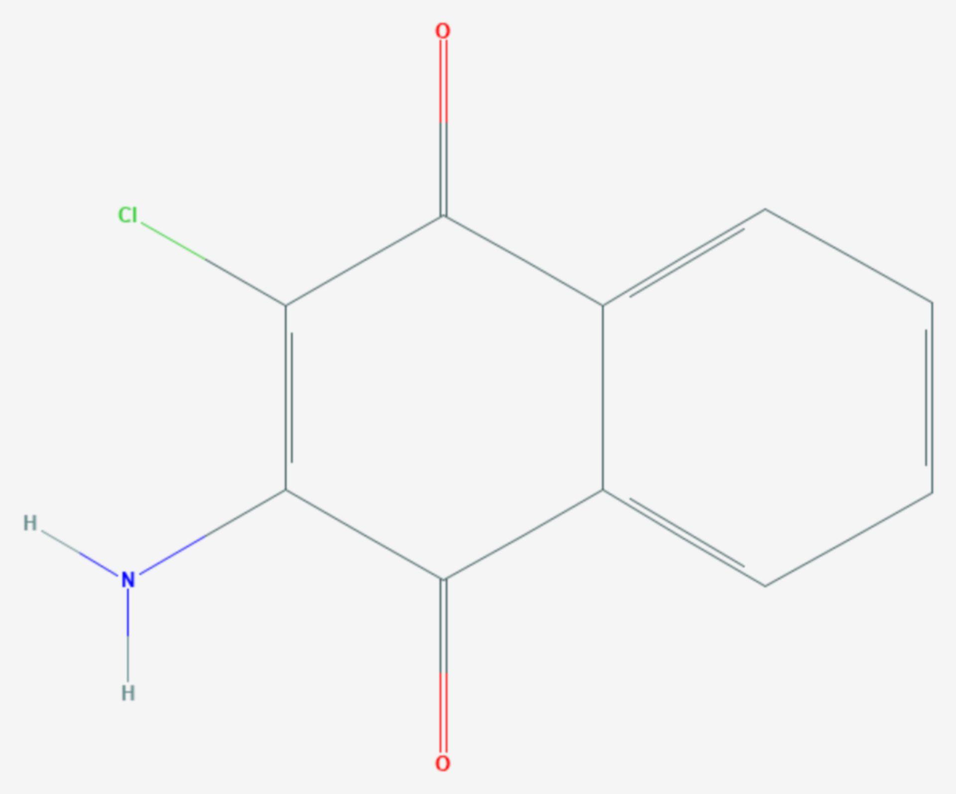 Quinoclamin (Strukturformel)