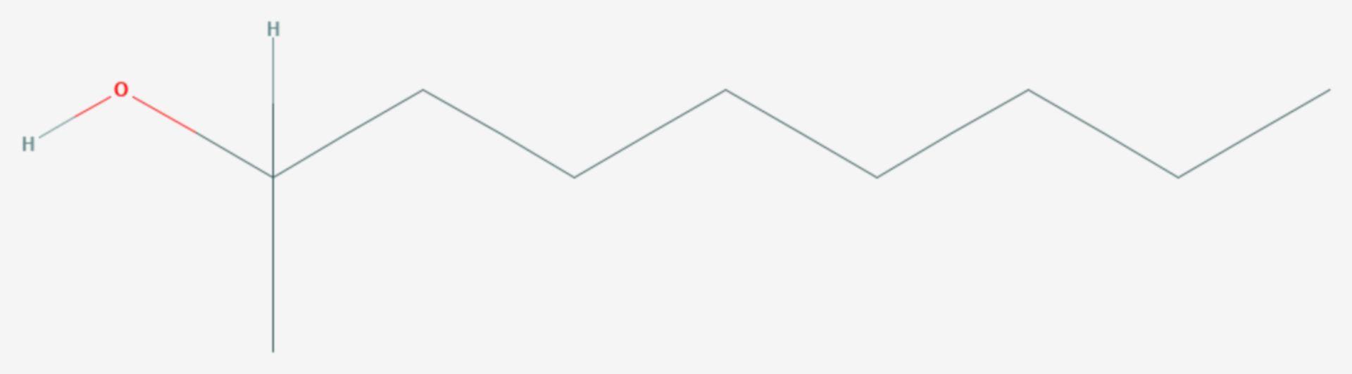 2-Nonanol (Strukturformel)