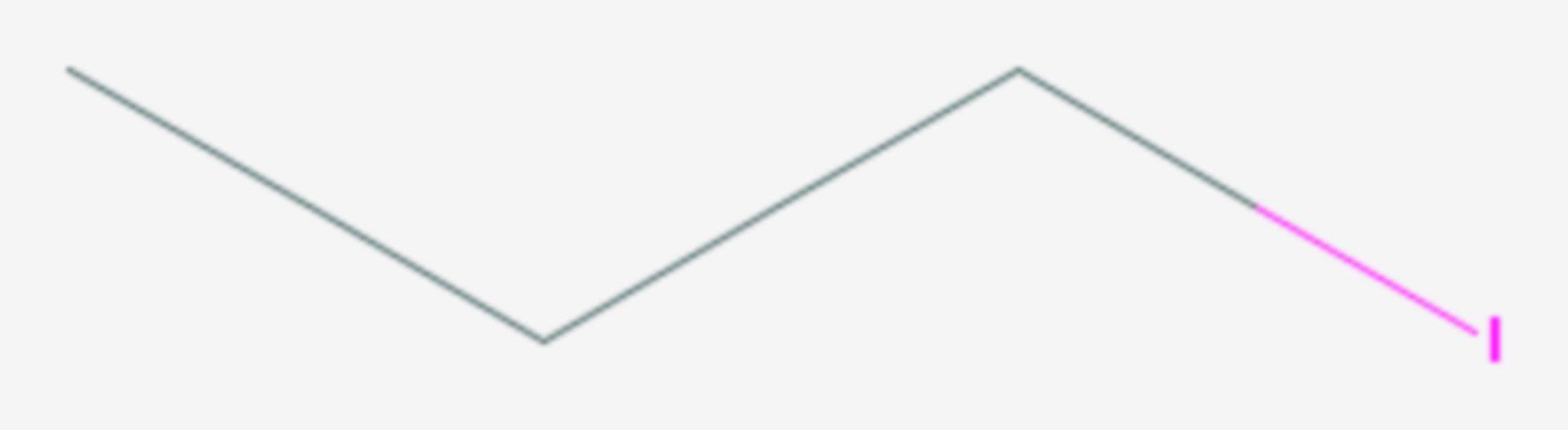 1-Iodpropan (Strukturformel)