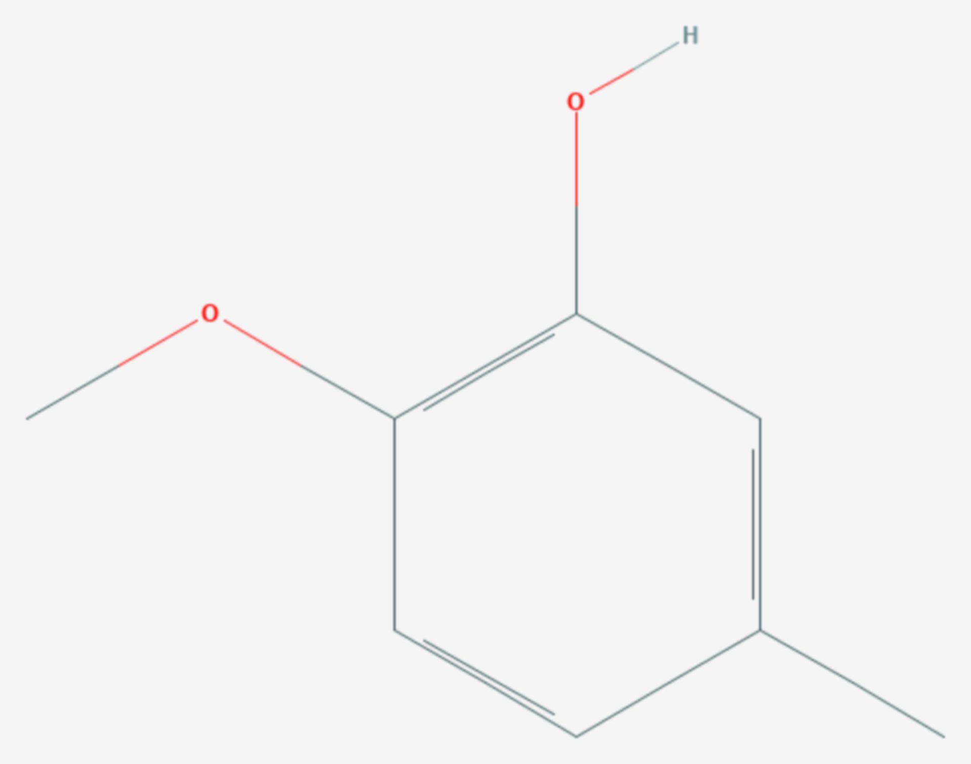 Isokreosol (Strukturformel)