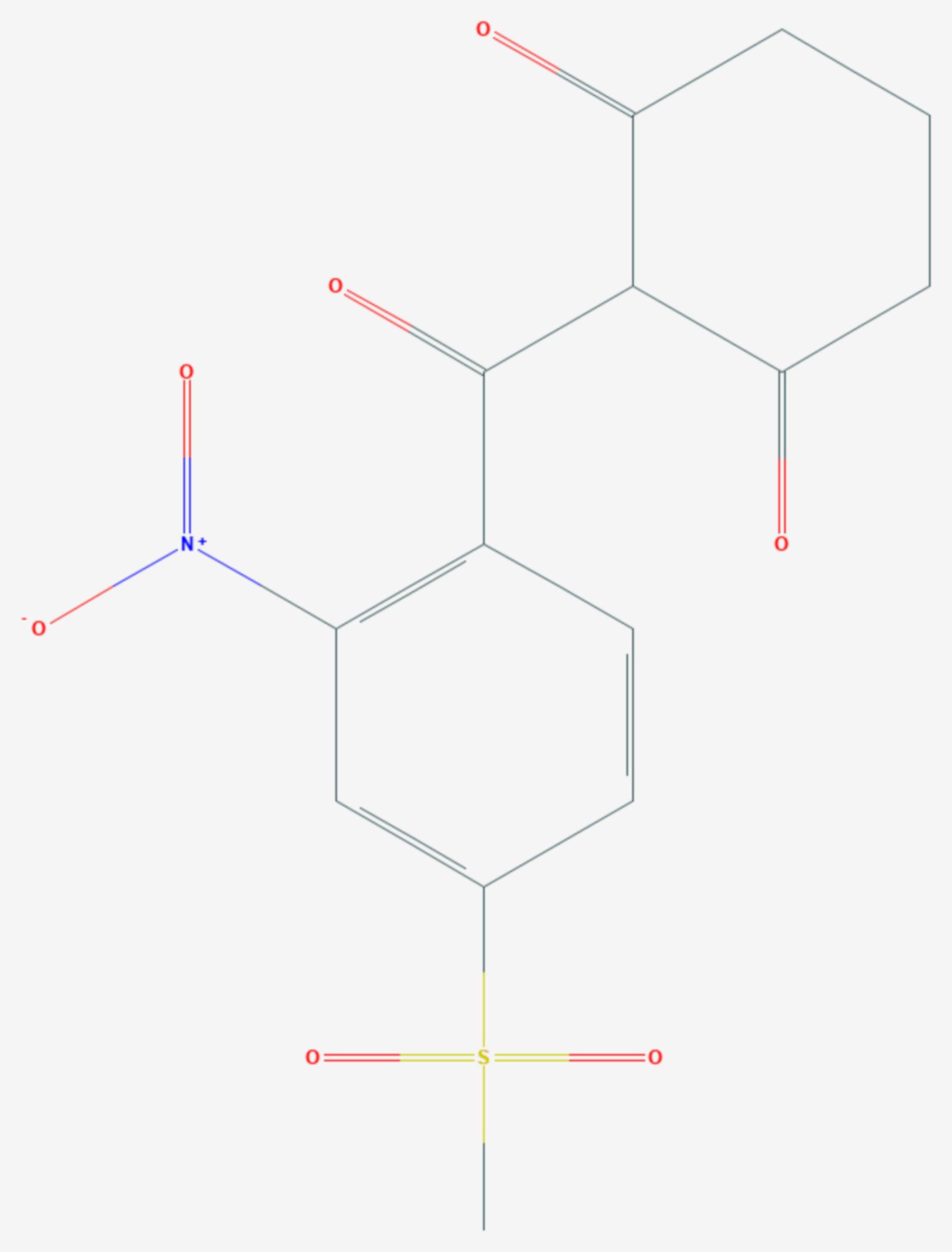 Mesotrion (Strukturformel)