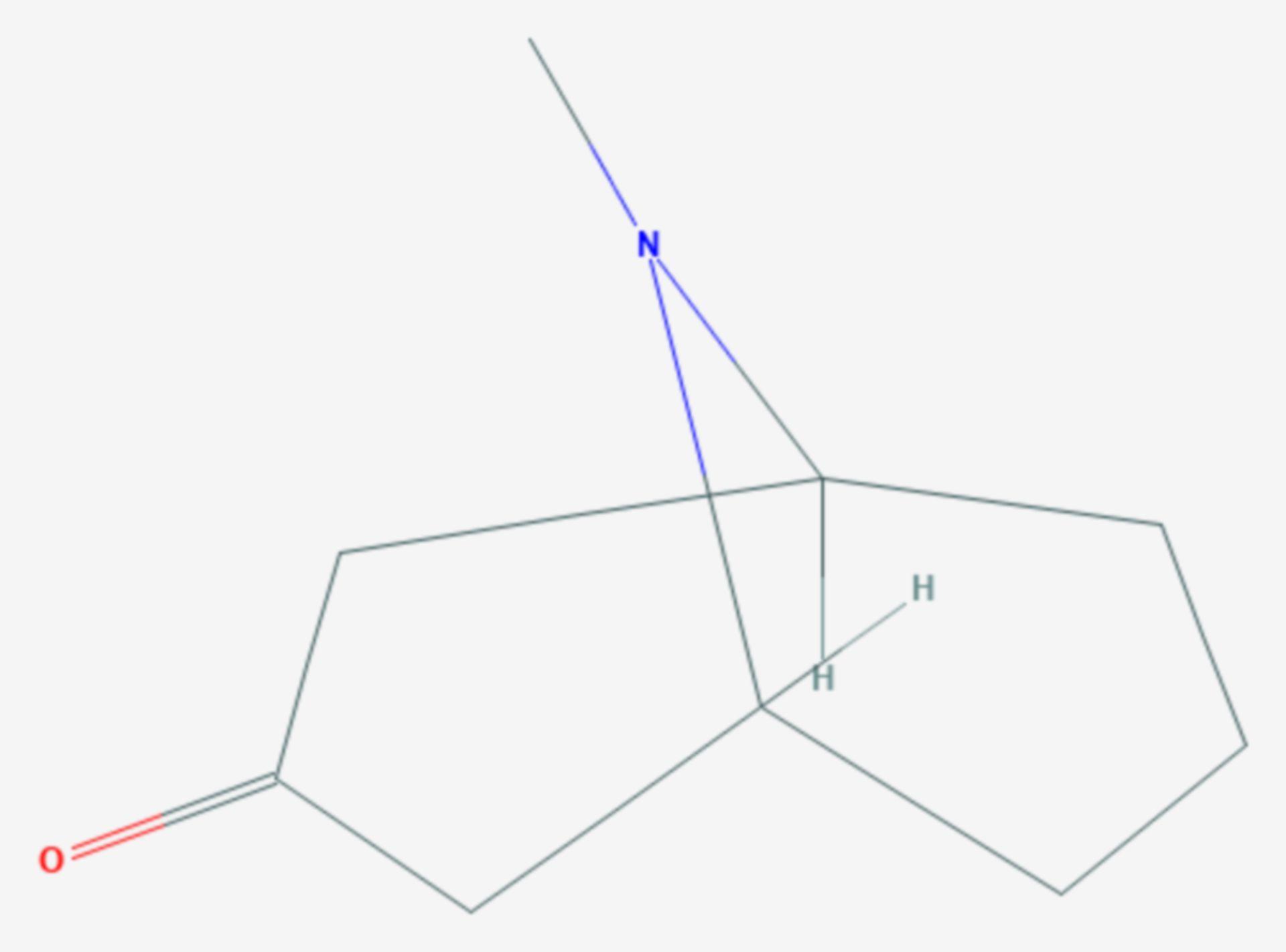 Pseudopelletierin (Strukturformel)