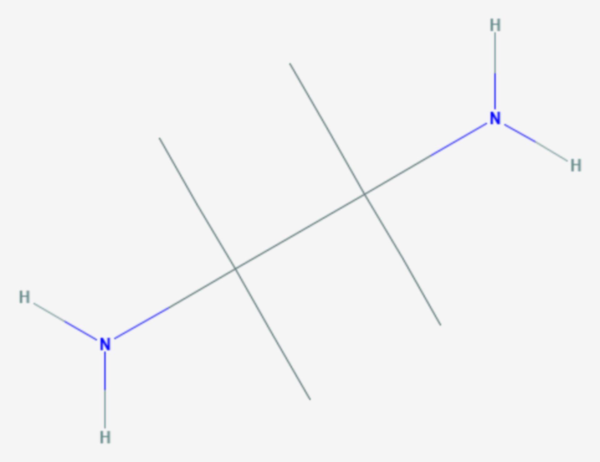 Tetramethylethylendiamin (Strukturformel)