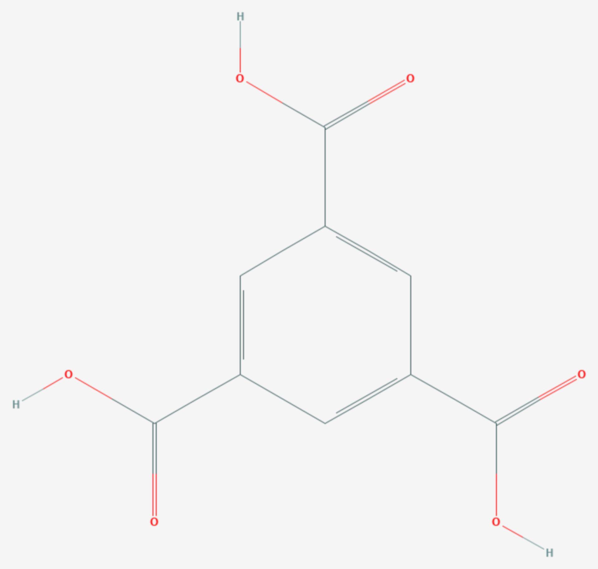 Trimesinsäure (Strukturformel)