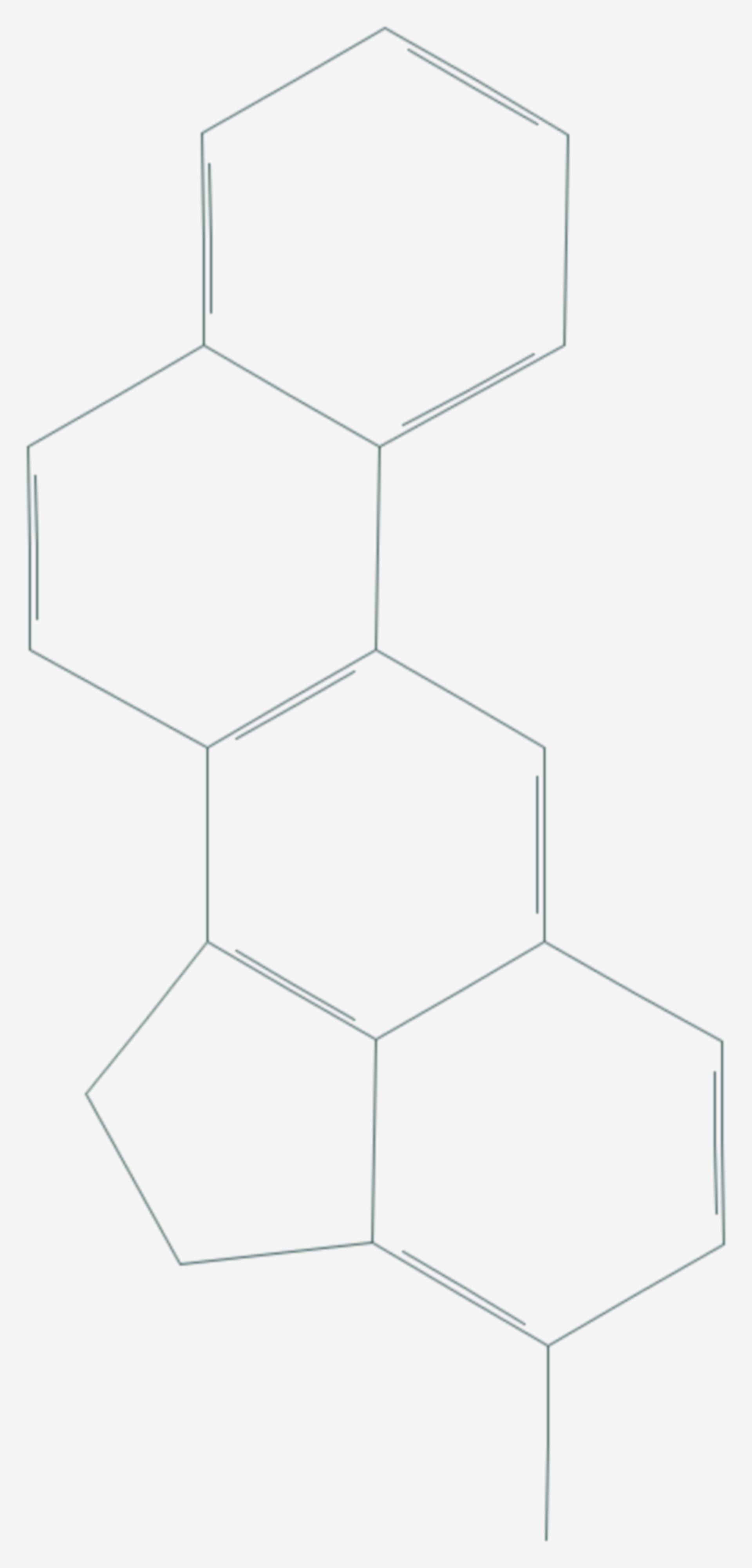3-Methylcholanthren (Strukturformel)