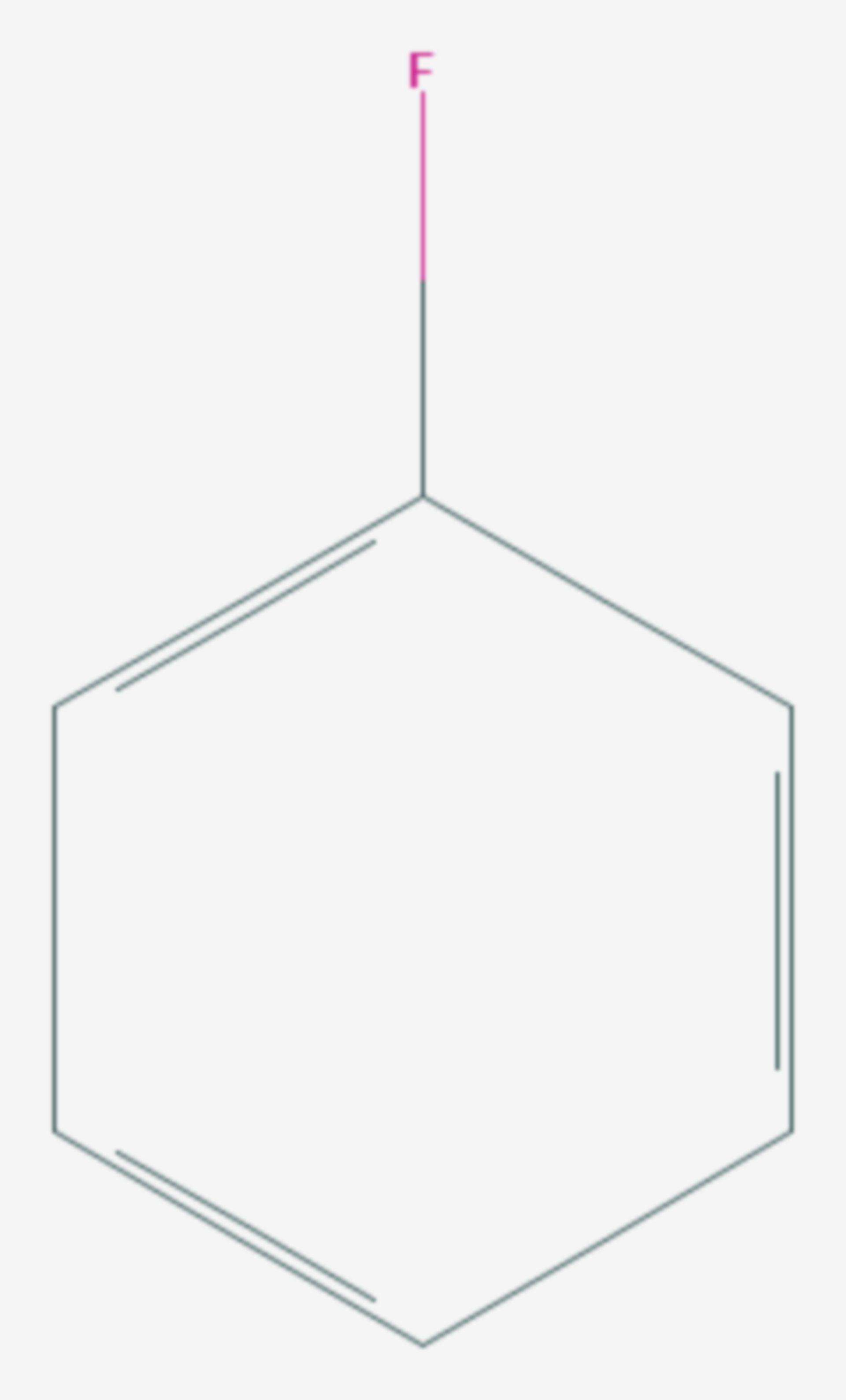 Fluorbenzol (Strukturformel)