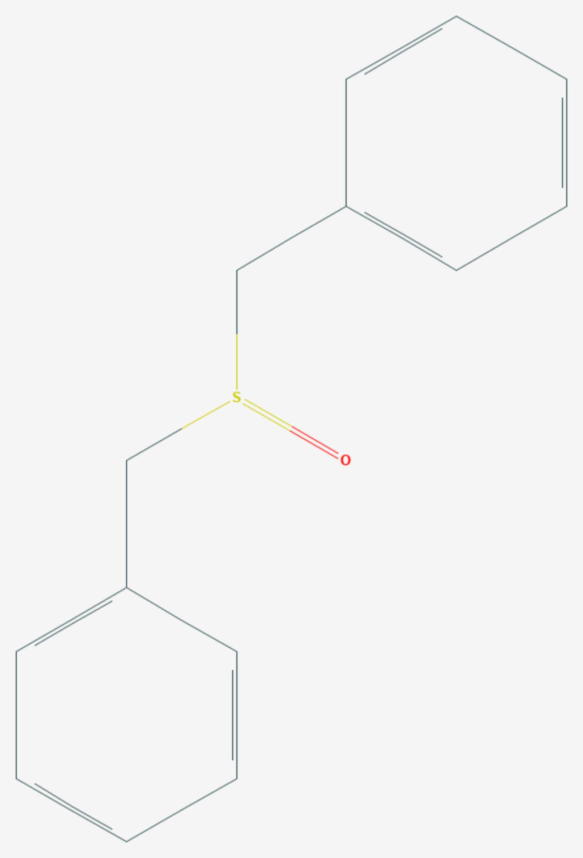 Dibenzylsulfoxid (Strukturformel)