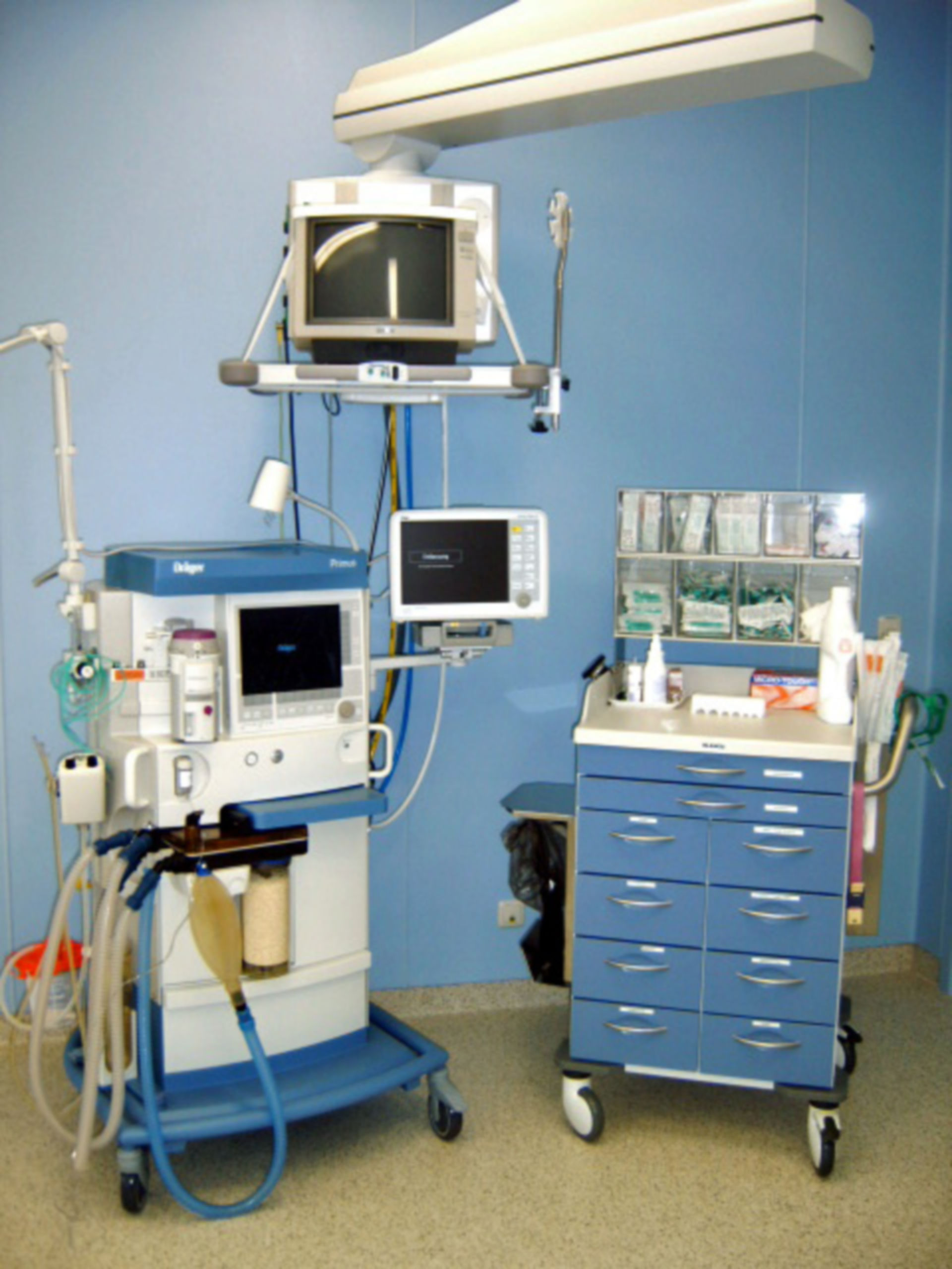 Anesthesiological workstation