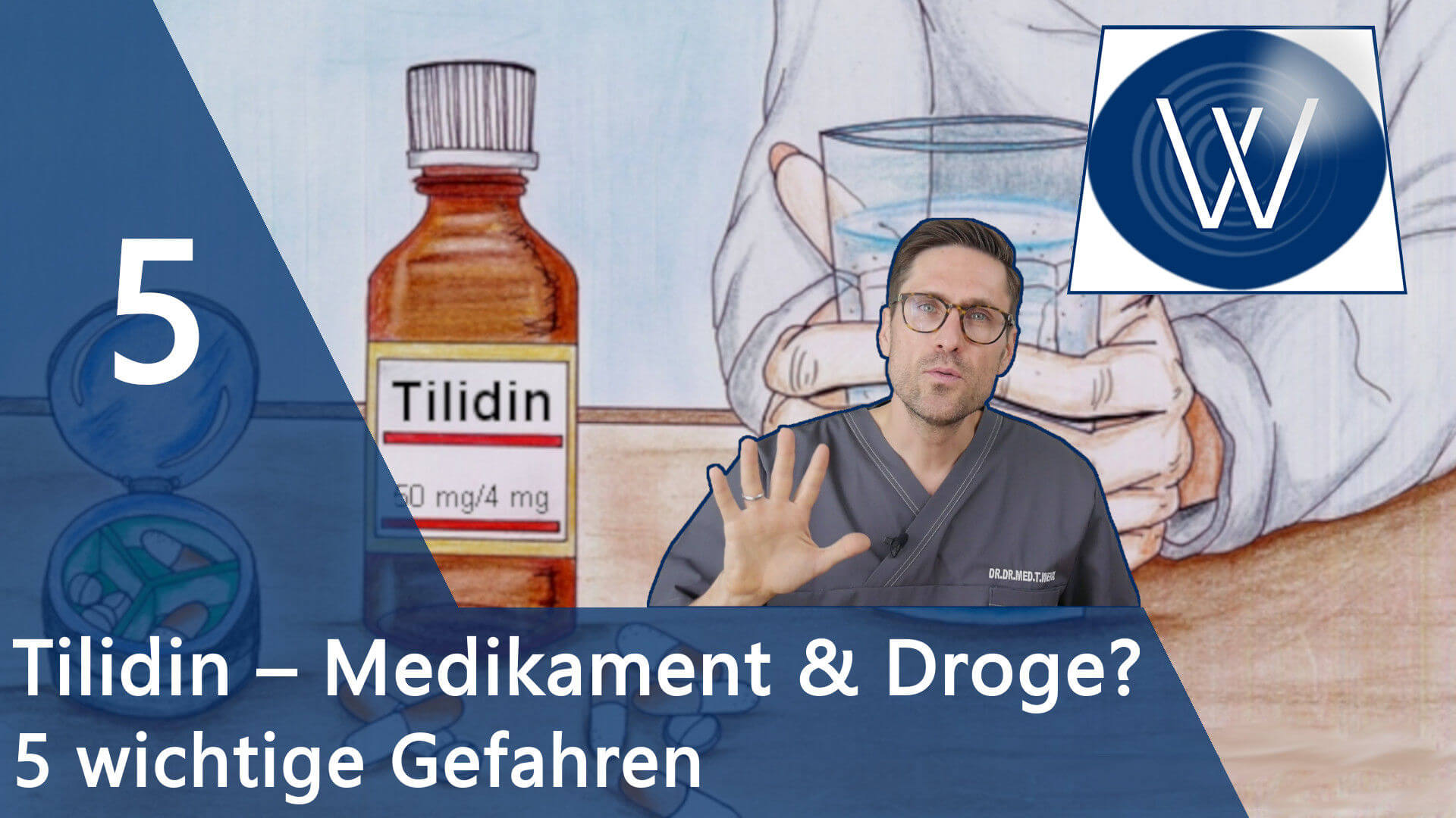 Das Opioid Tilidin – Wichtig in der Schmerztherapie, Missbrauch als Droge