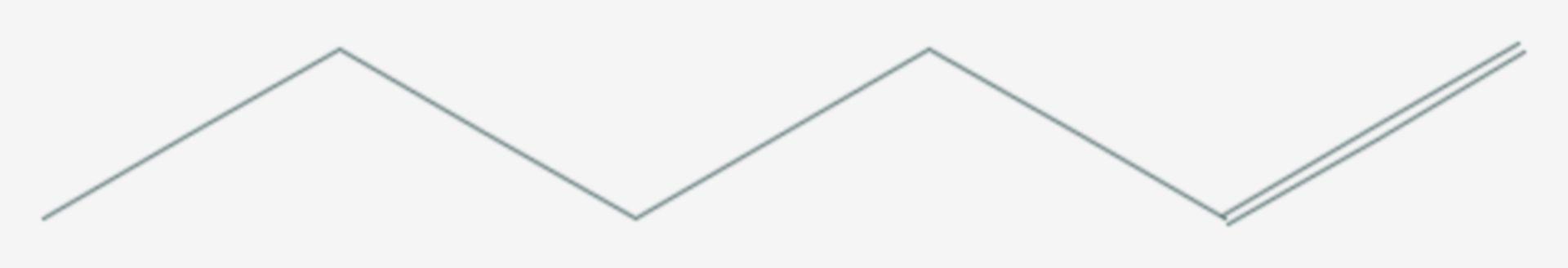 1-Hexen (Strukturformel)