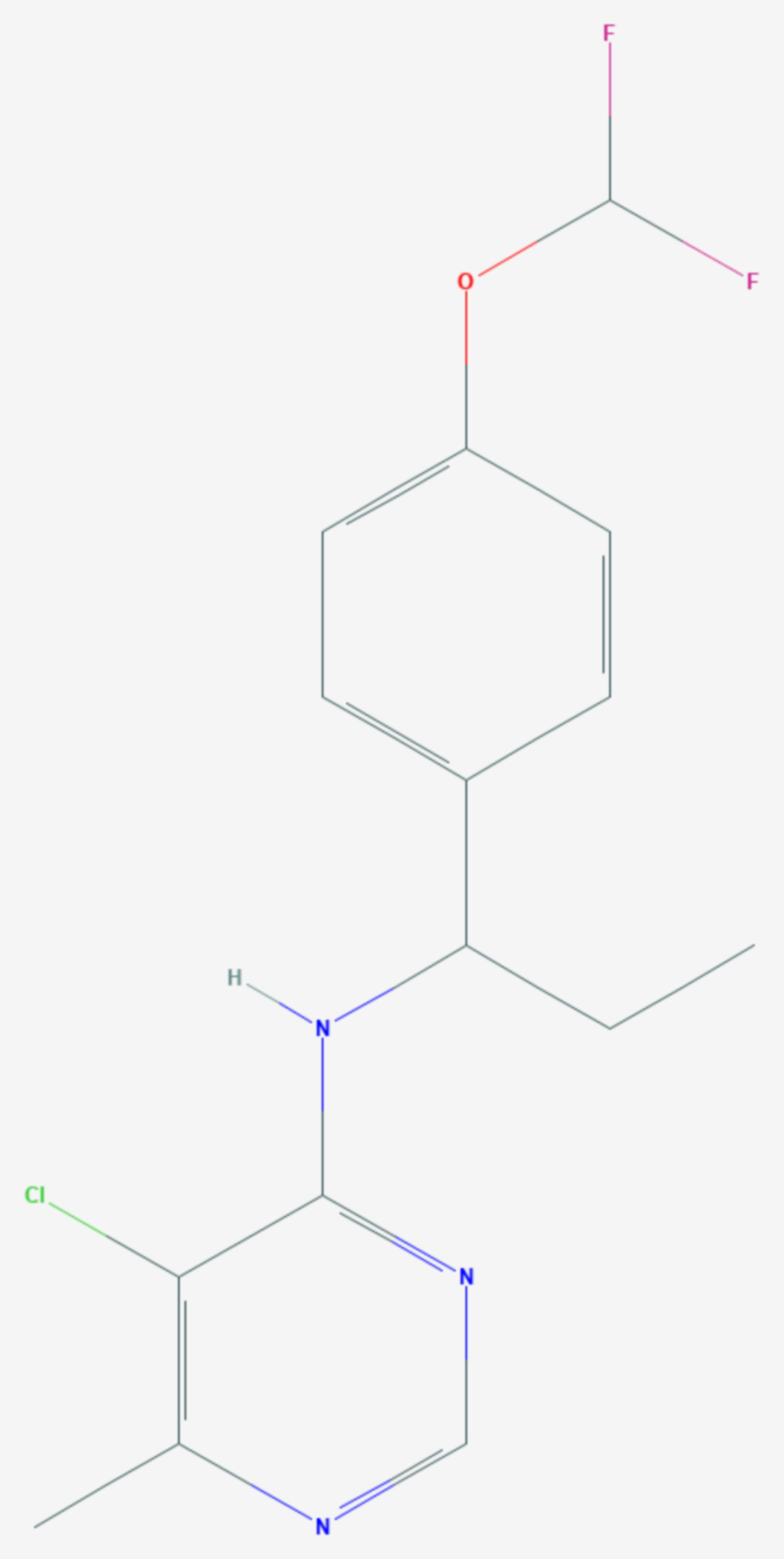 Diflumetorim (Strukturformel)