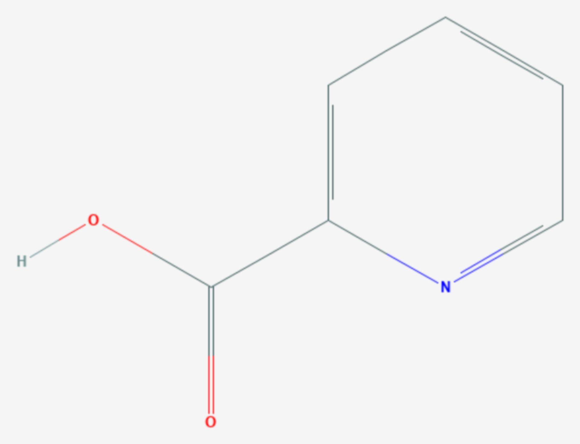 Picolinsäure (Strukturformel)