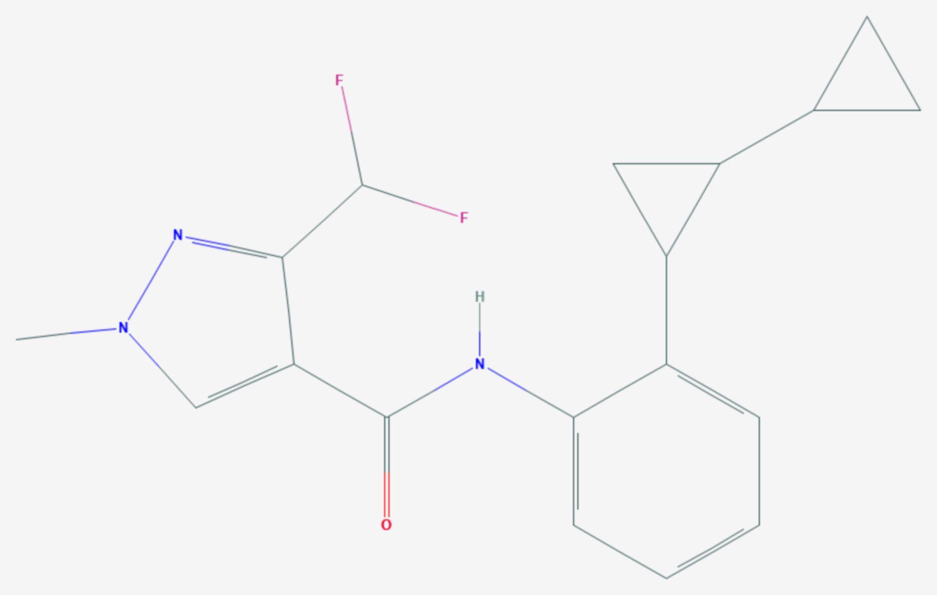 Sedaxan (Strukturformel)