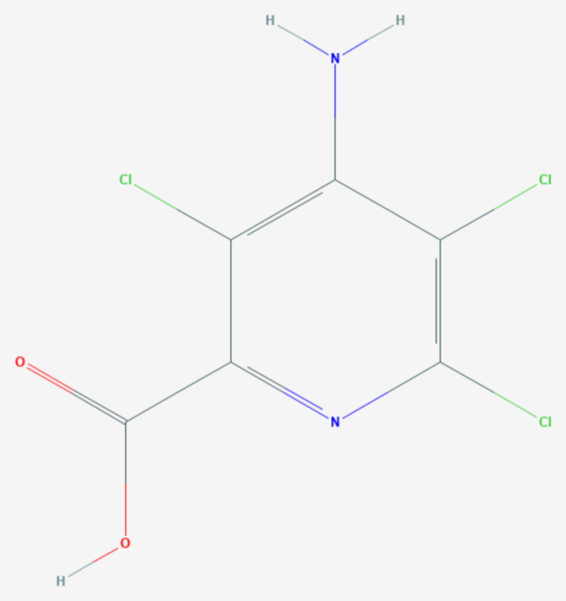Picloram (Strukturformel)