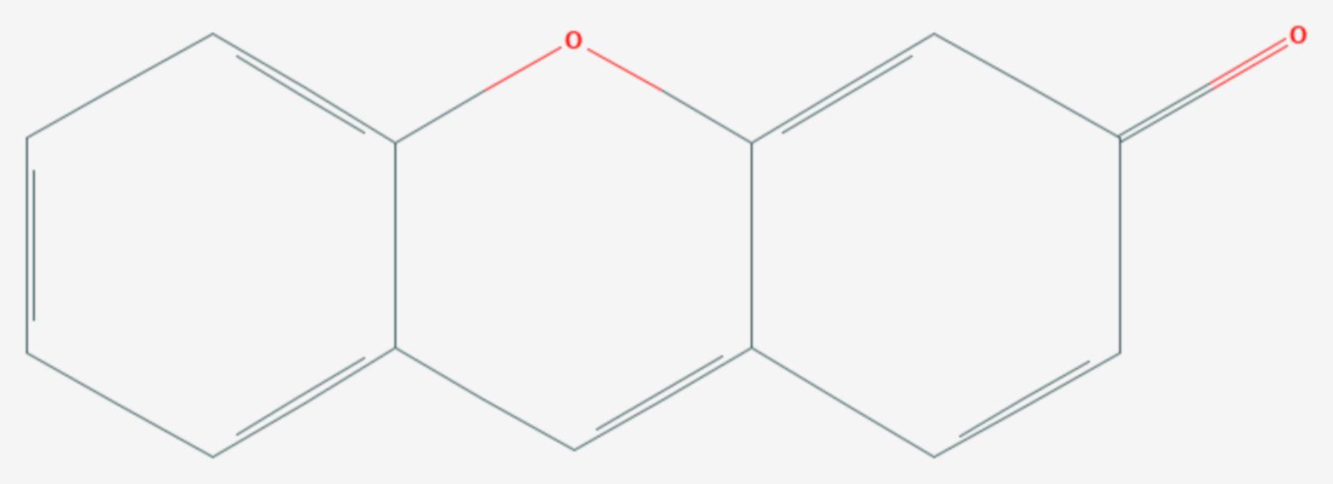Fluoron (Strukturformel)