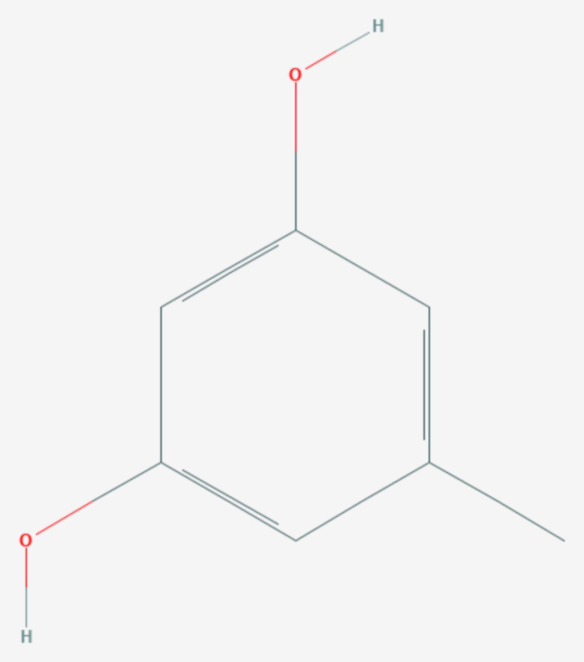 Orcin (Strukturformel)