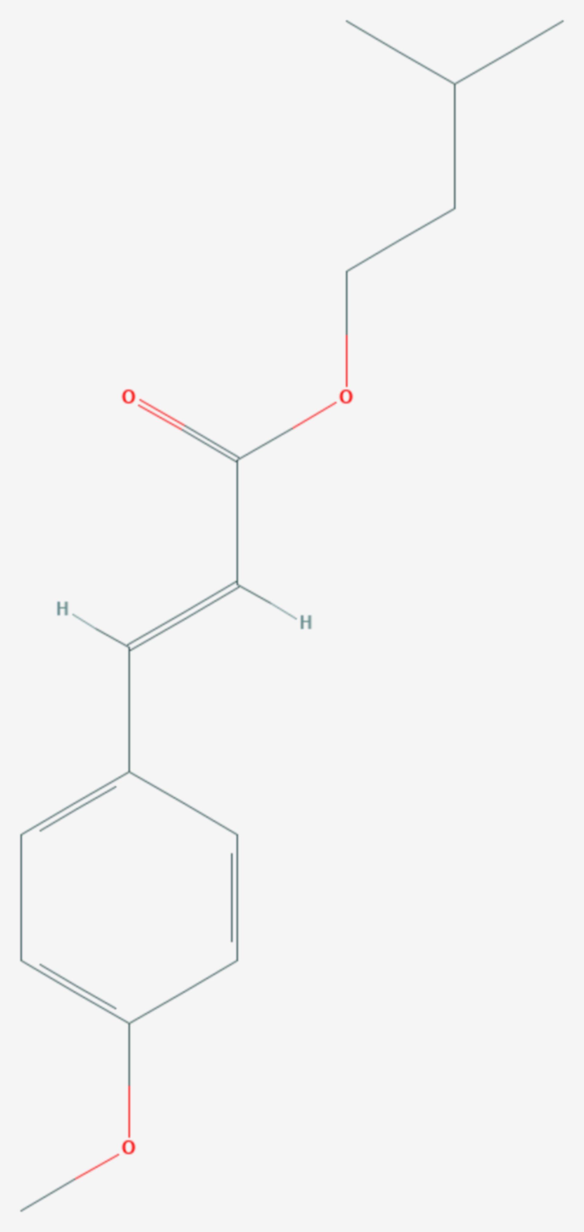 Amiloxat (Strukturformel)