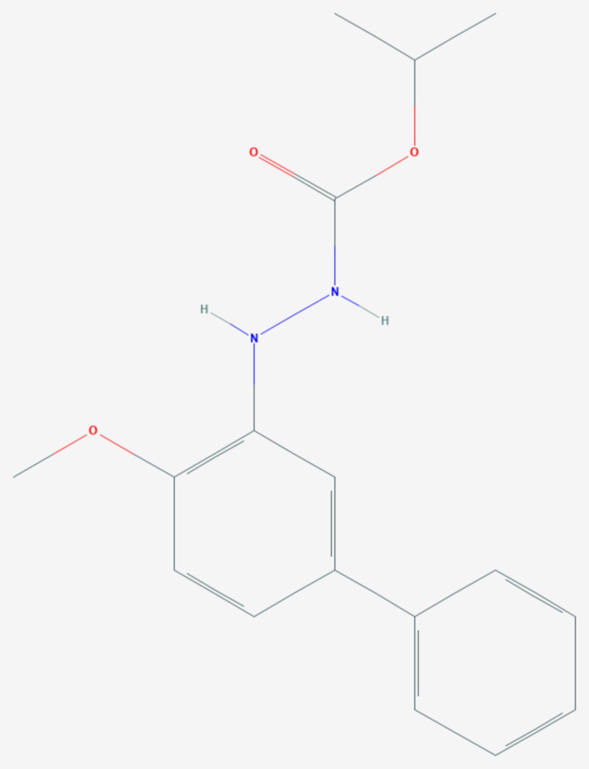 Bifenazat (Strukturformel)