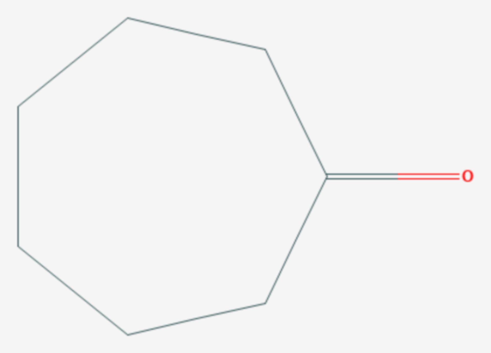 Cycloheptanon (Strukturformel)