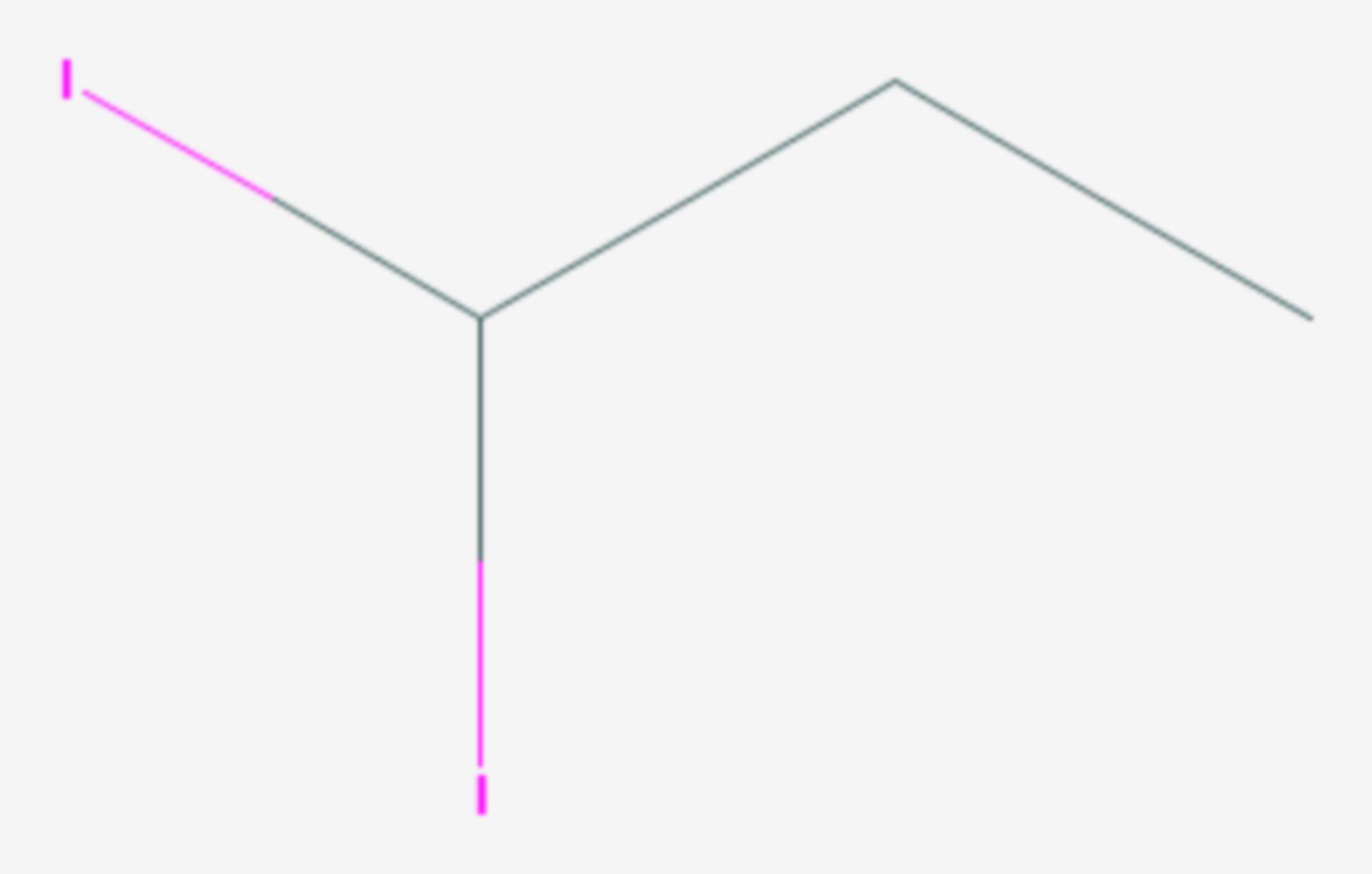 1,1-Diiodpropan (Strukturformel)