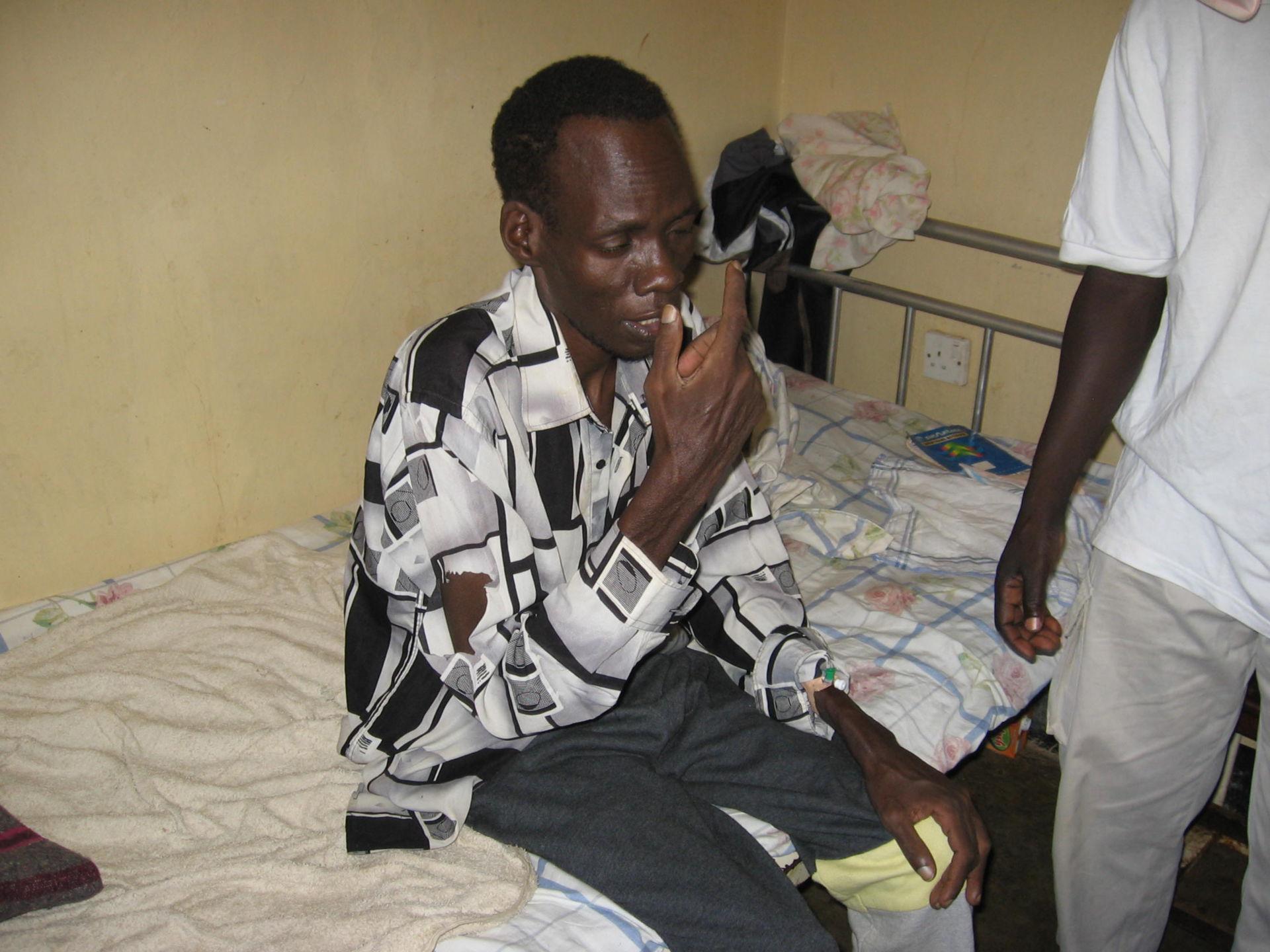 Patient from Uganda