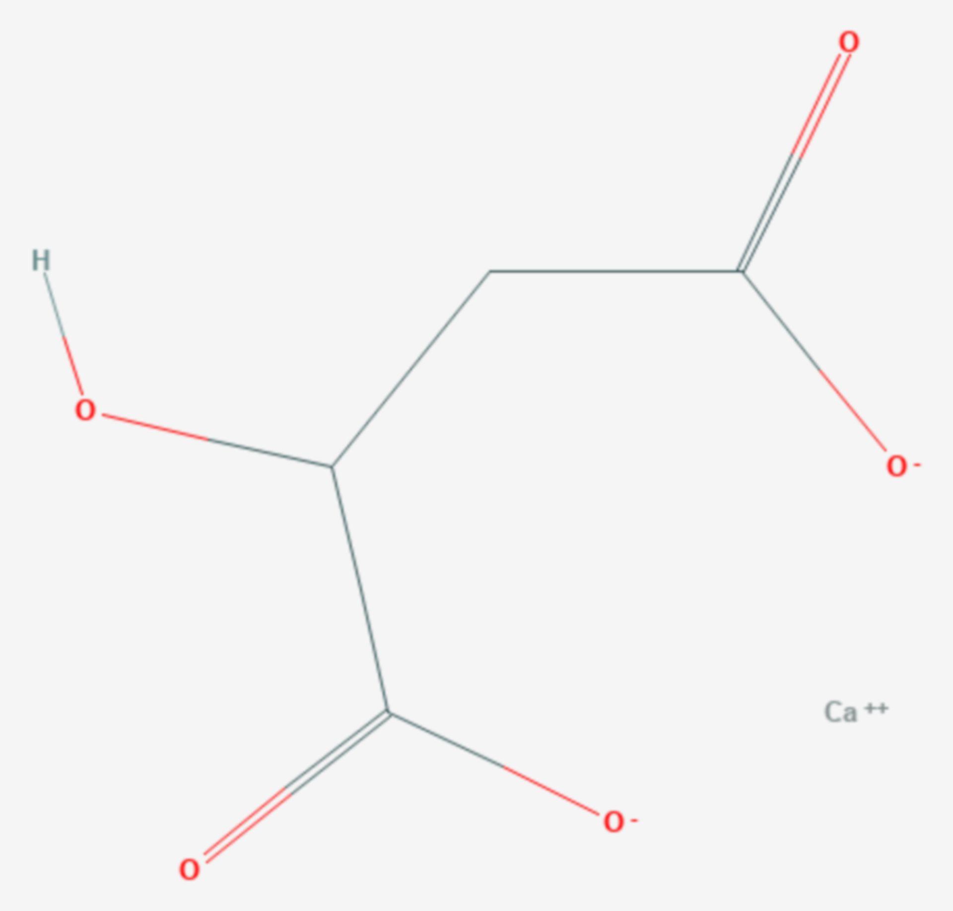 Calciummalat (Strukturformel)