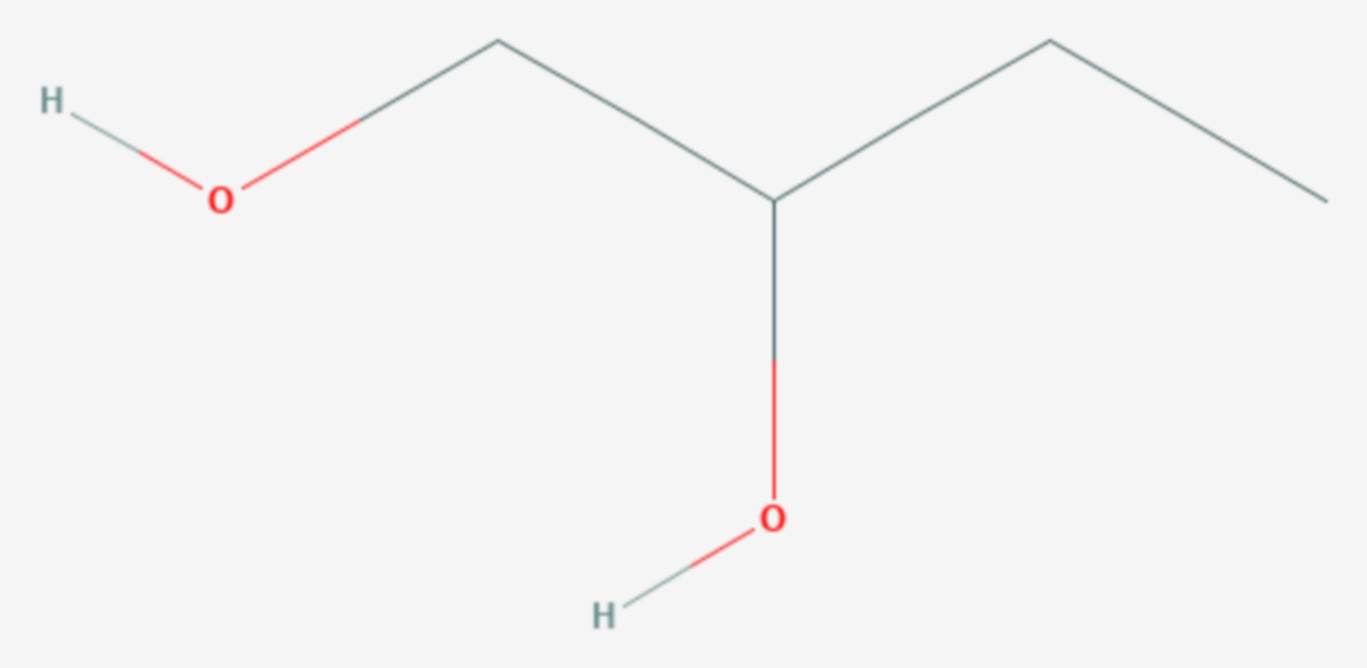 1,2-Butandiol (Strukturformel)
