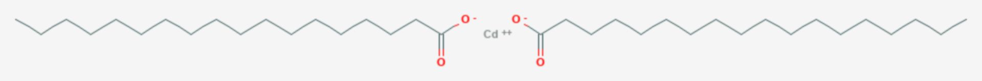 Cadmiumstearat (Strukturformel)