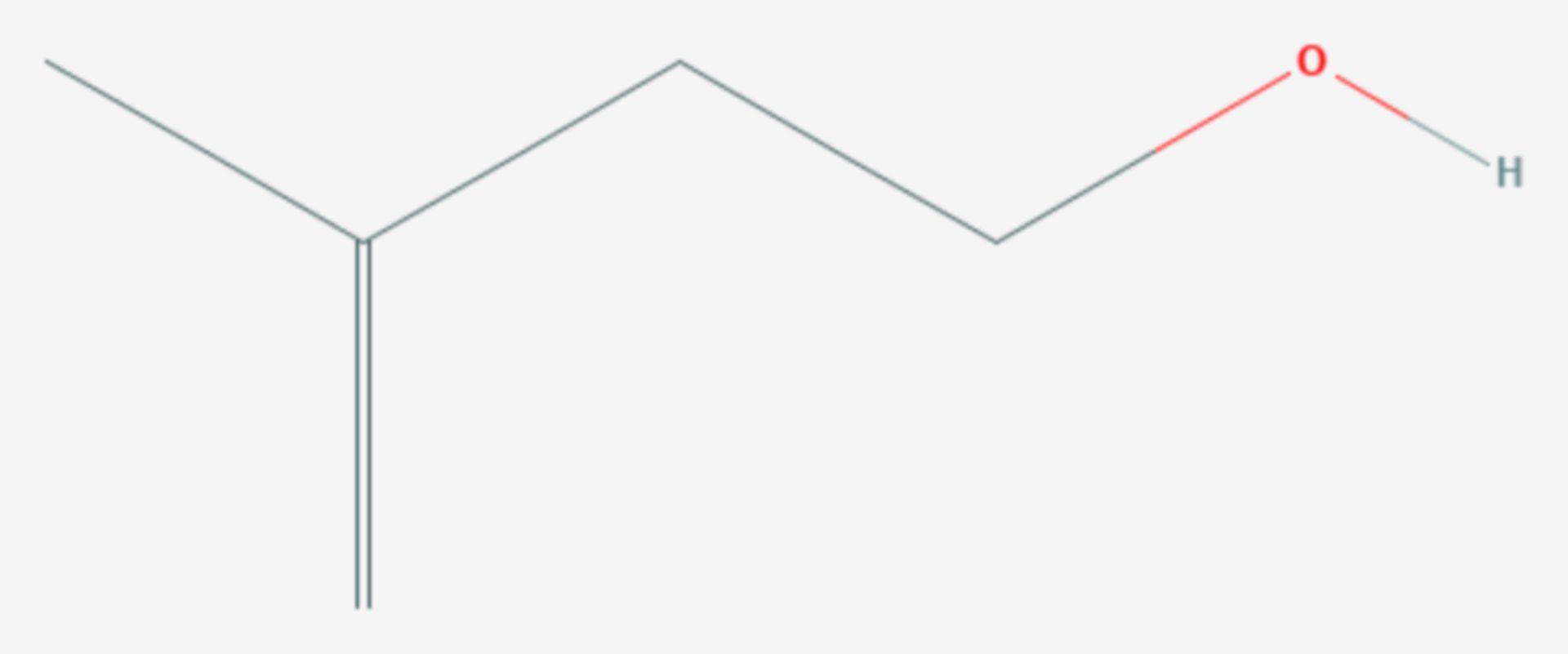 Isoprenol (Strukturformel)