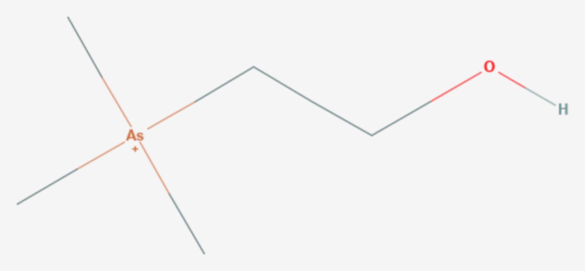 Arsenocholin (Strukturformel)