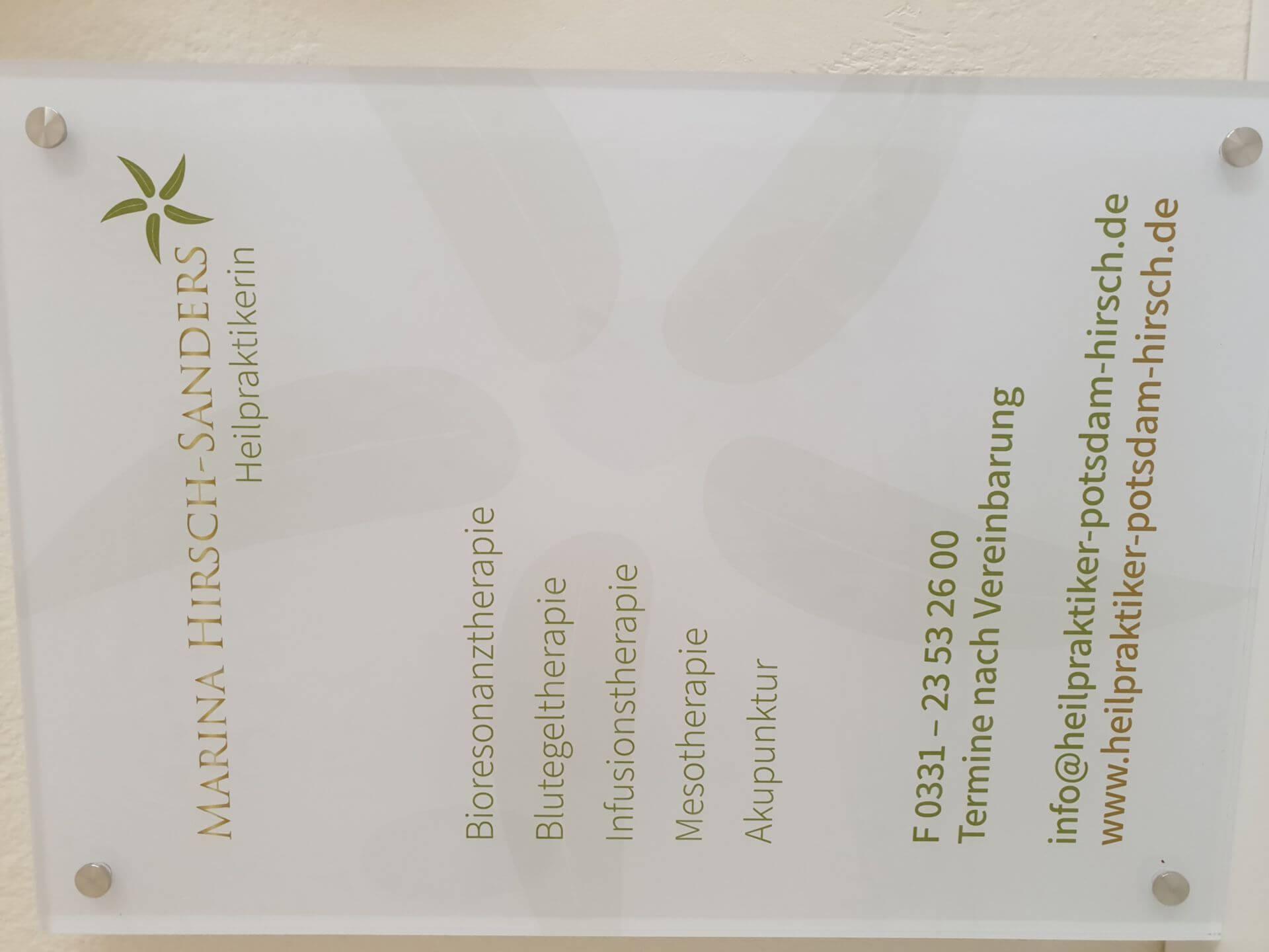 Akupunktur gegen Streß in Potsdam / Wannsee / Zehlendorf bei Heilpraktiker Potsdam / Wannsee