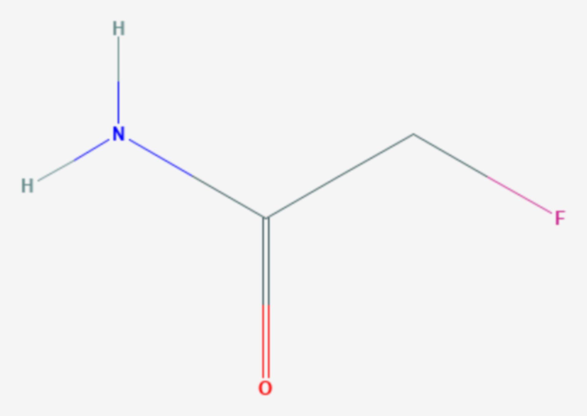 Fluoracetamid (Strukturformel)