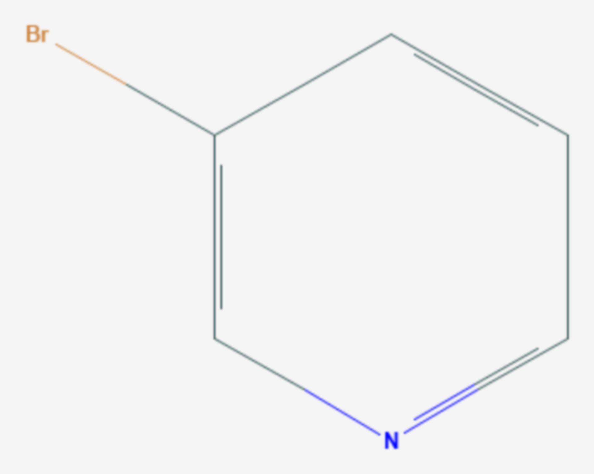 3-Brompyridin (Strukturformel)