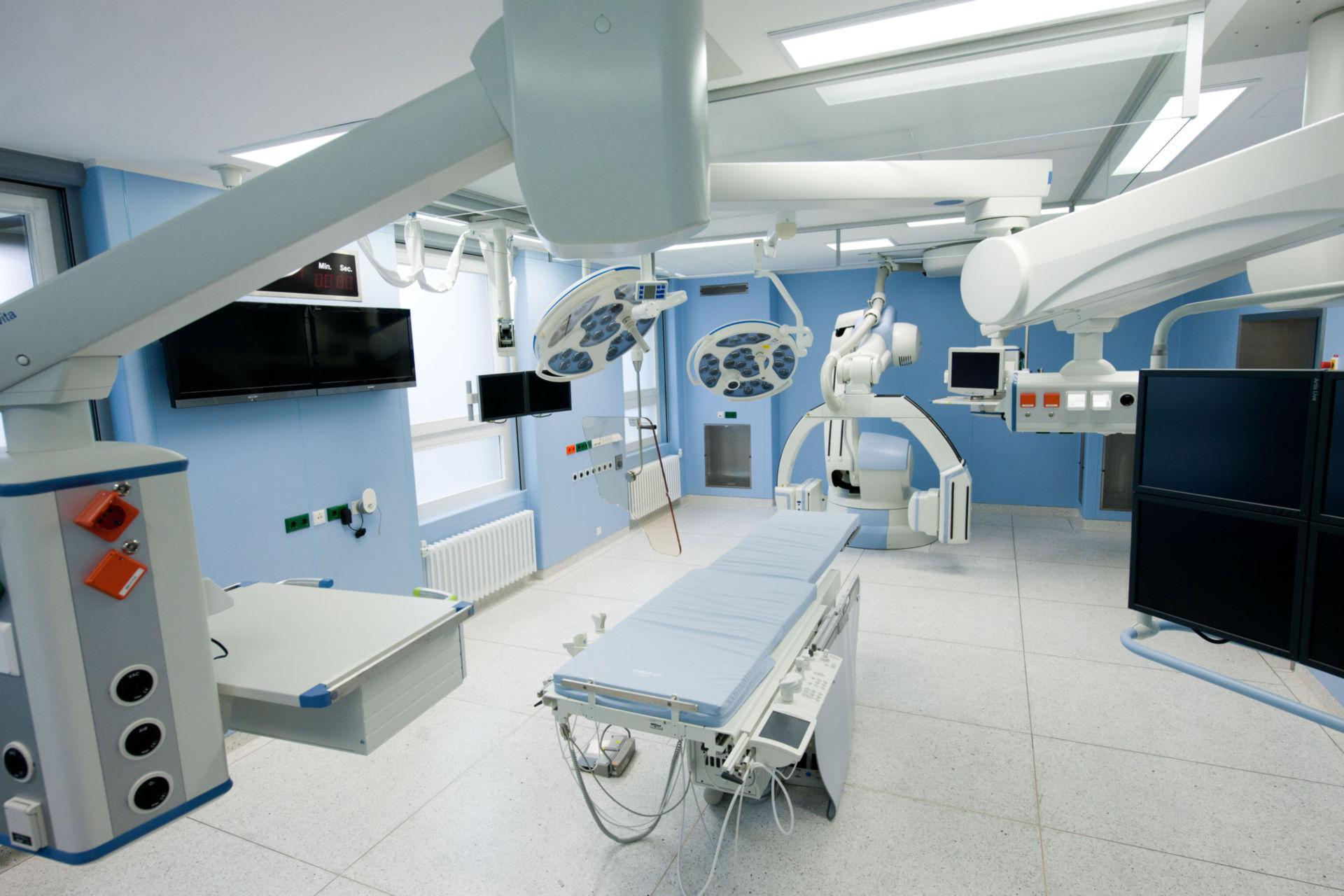 Nuova sala operatoria ibrida presso l'ospedale universitario di Heidelberg