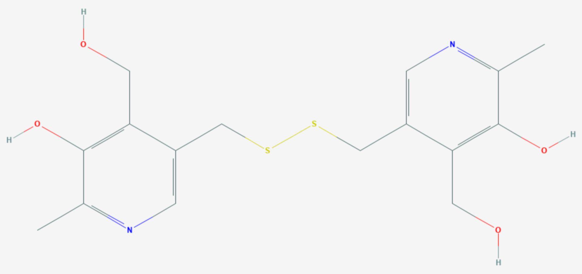 Pyritinol (Strukturformel)