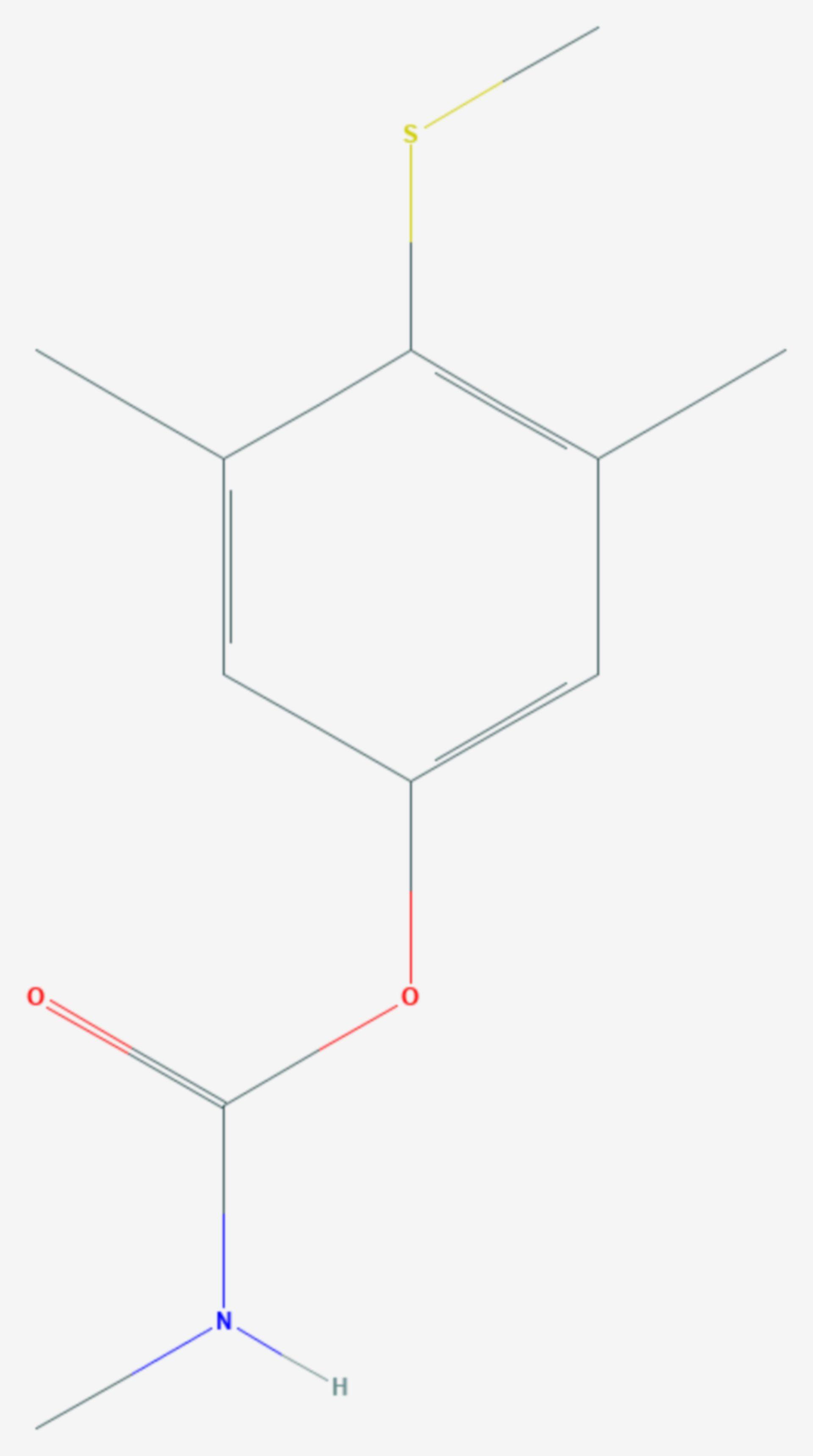 Methiocarb (Strukturformel)