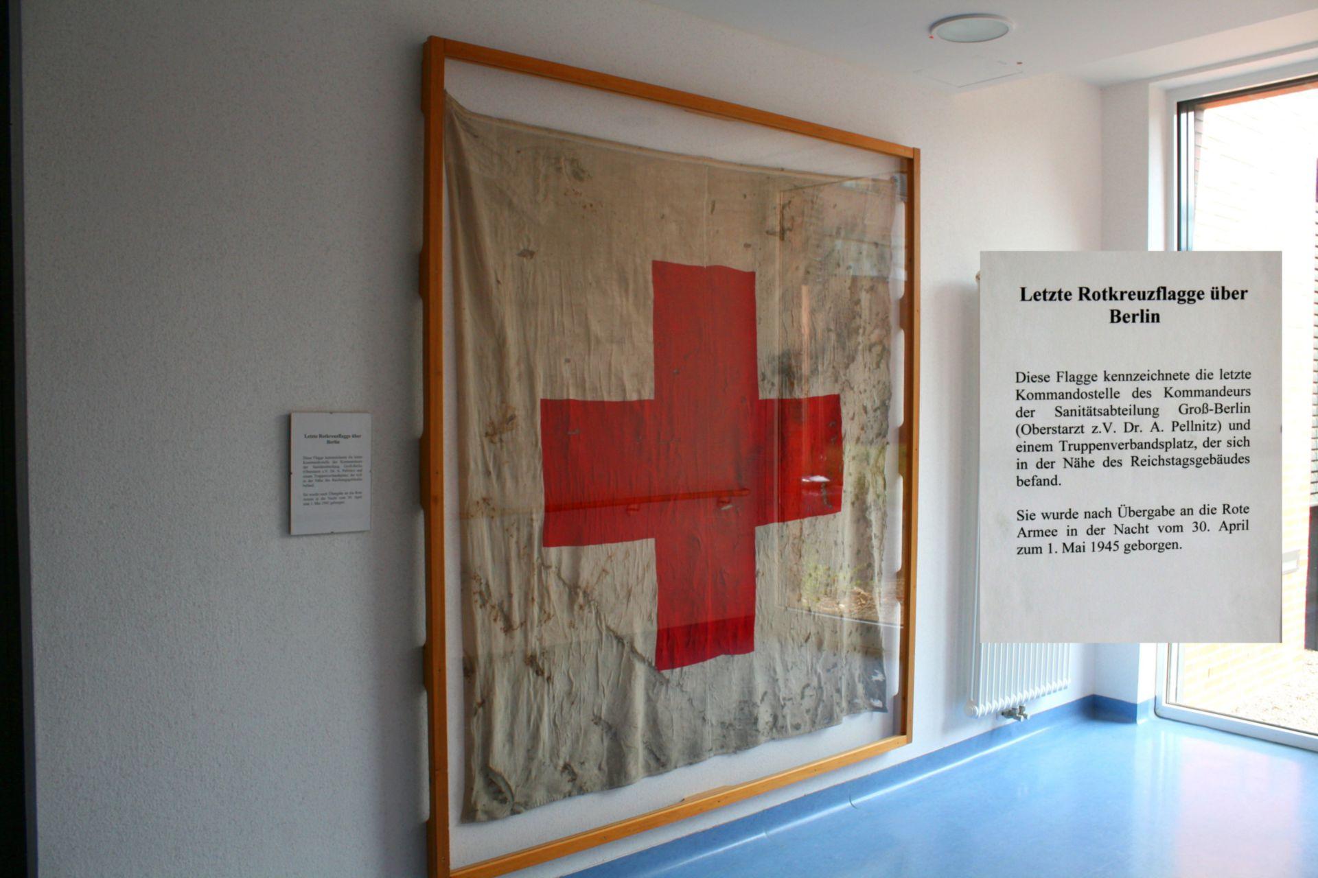 Last Red Cross flag over Berlin (1945)