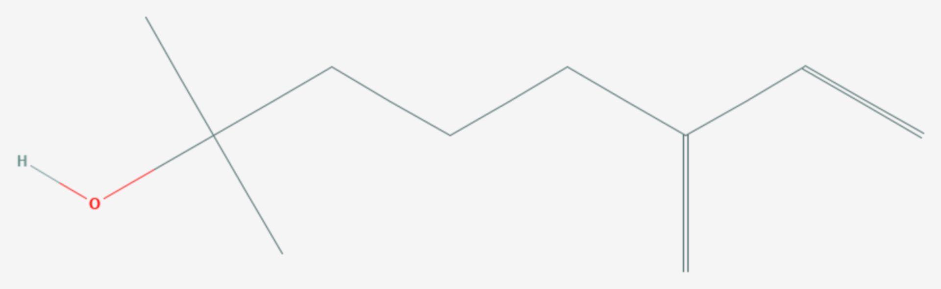 Myrcenol (Strukturformel)